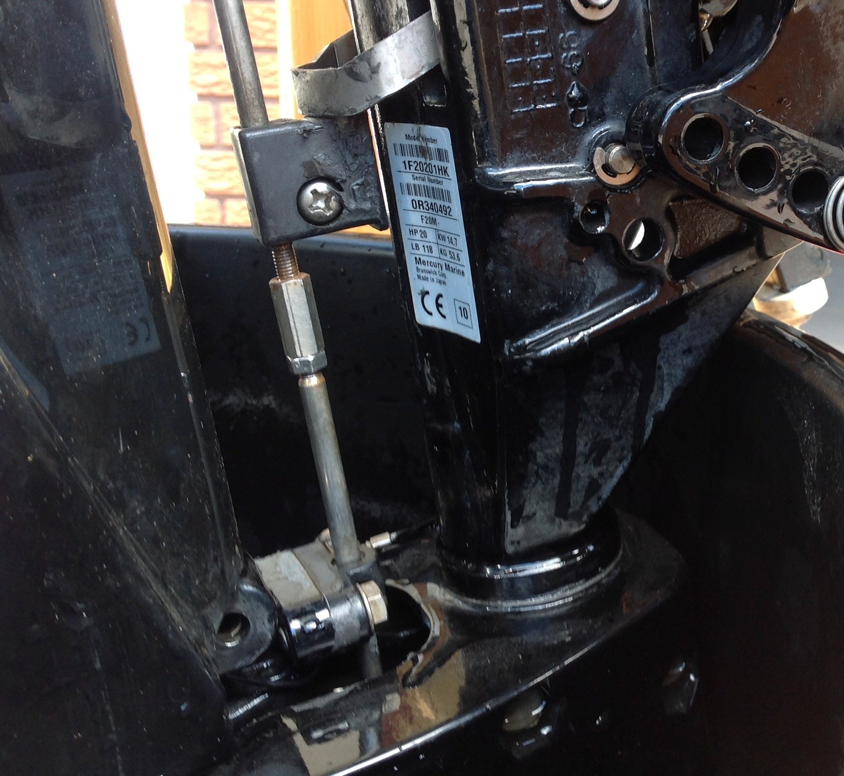 I have a 2010 Mercury Outboard 20 hp, serial no 0R340492