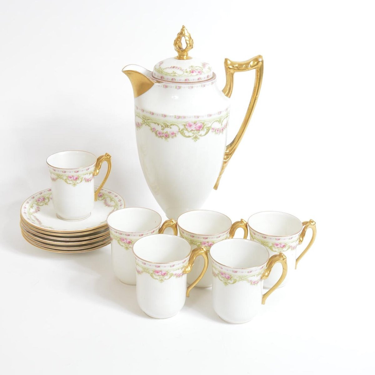 Looking for the individual values of Limoges Coronet Porcelain Tea ...
