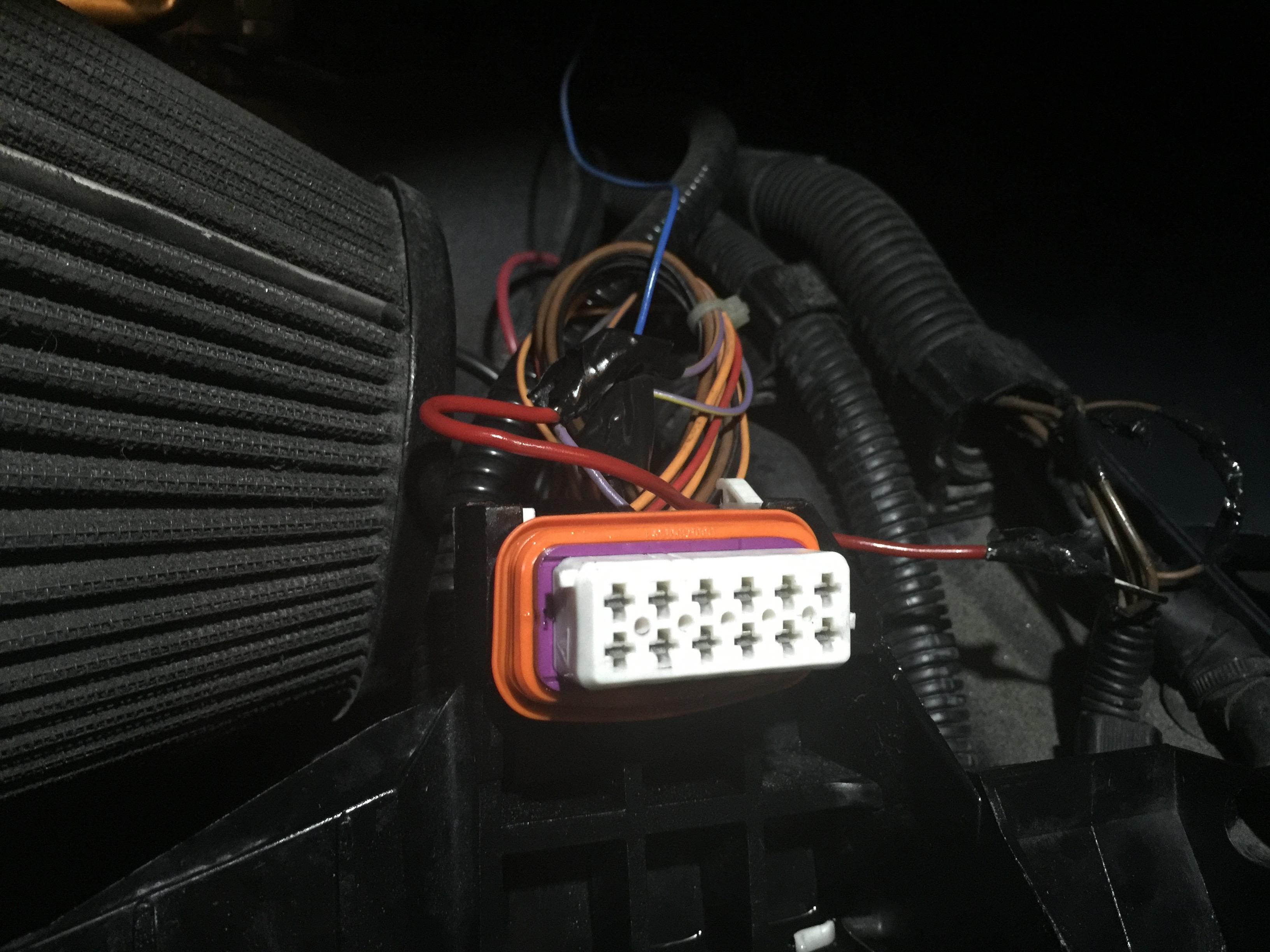 Porsche Cayenne Headlight Wiring Harnes