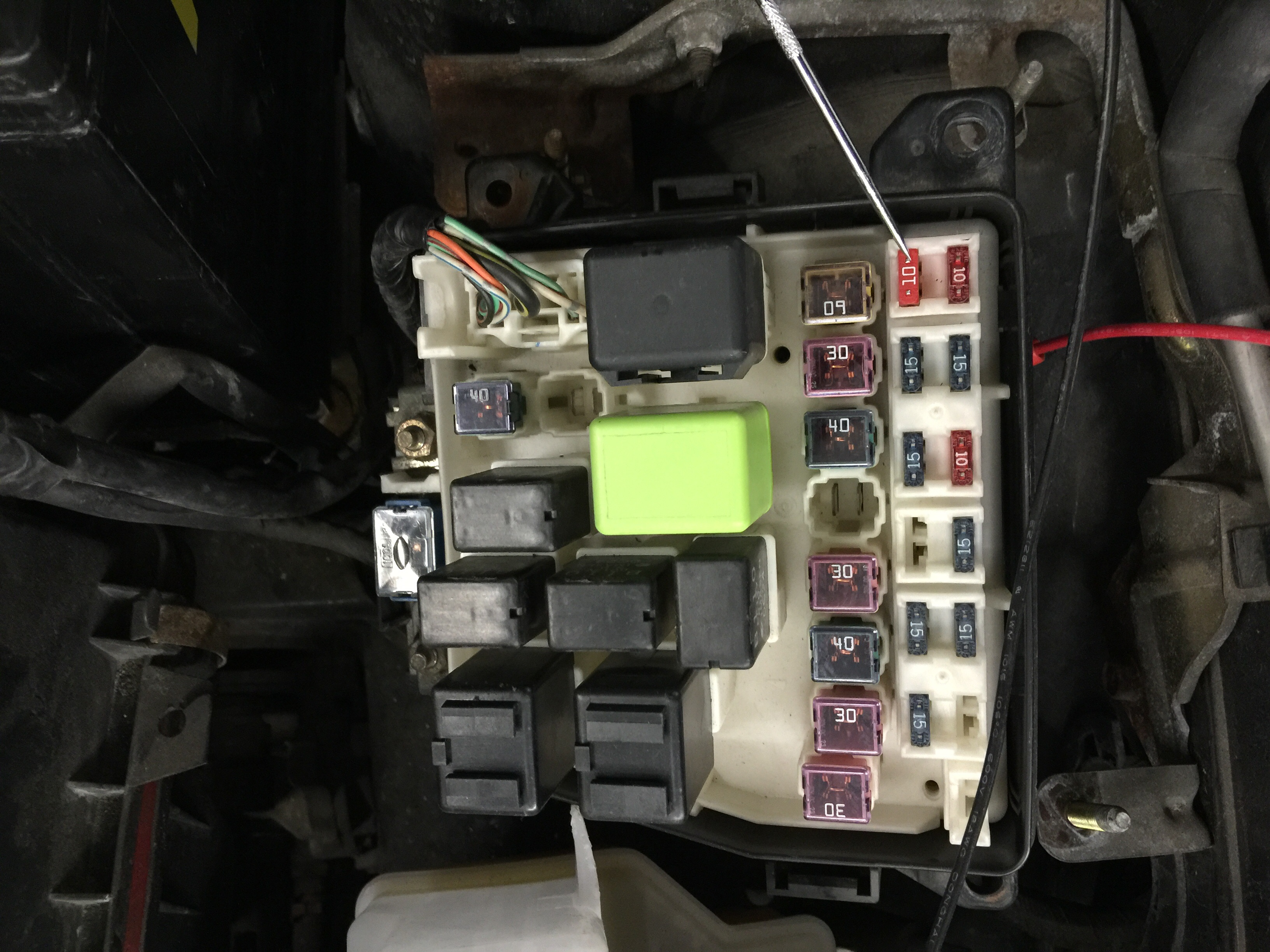 I Just Bought A 2000 Mazda Protege Dx 16l And Replaced The C Micro Fuse Box Image