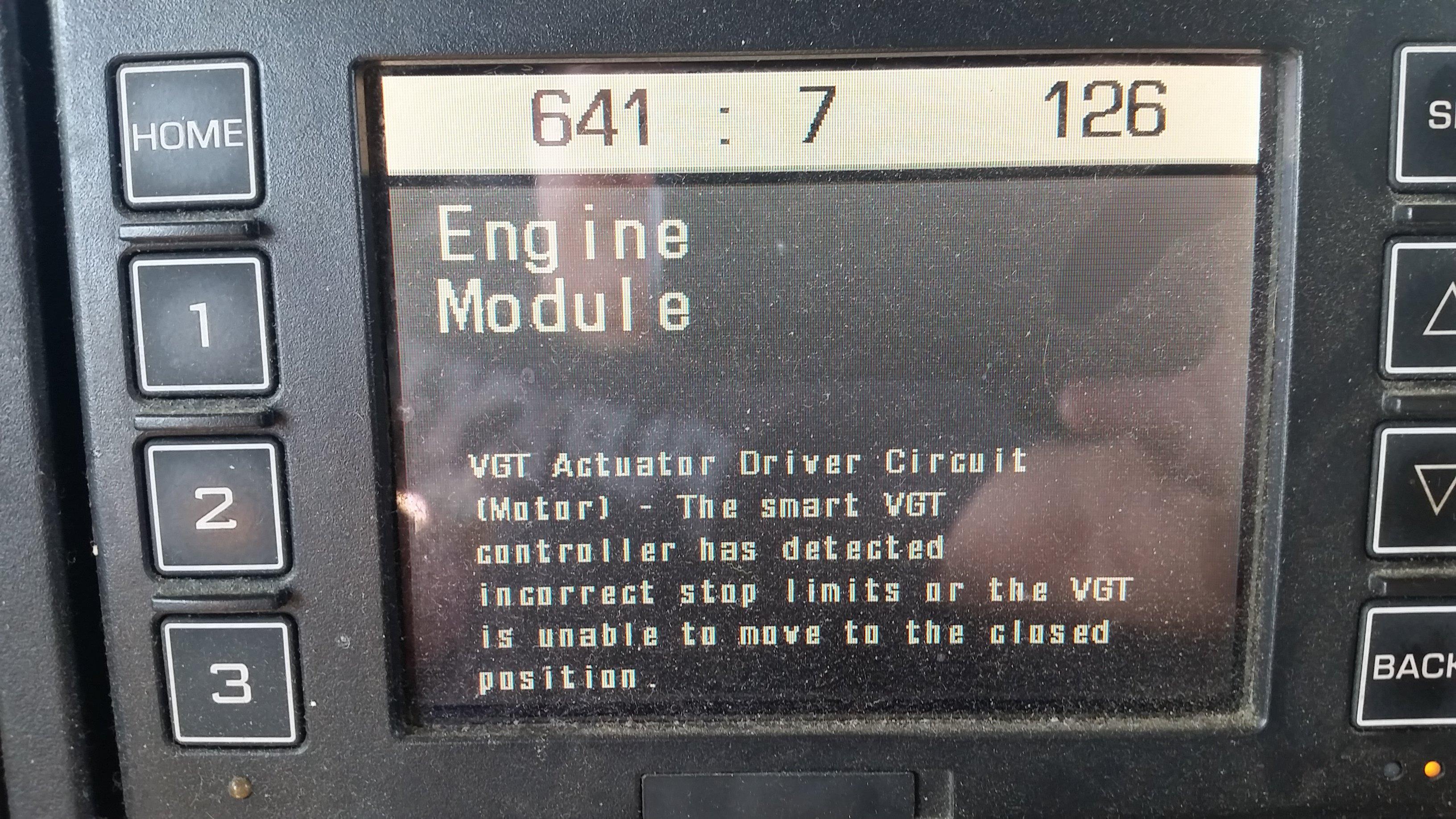 2008 International Prostar Cummins isx15 CM871 VGT actuator