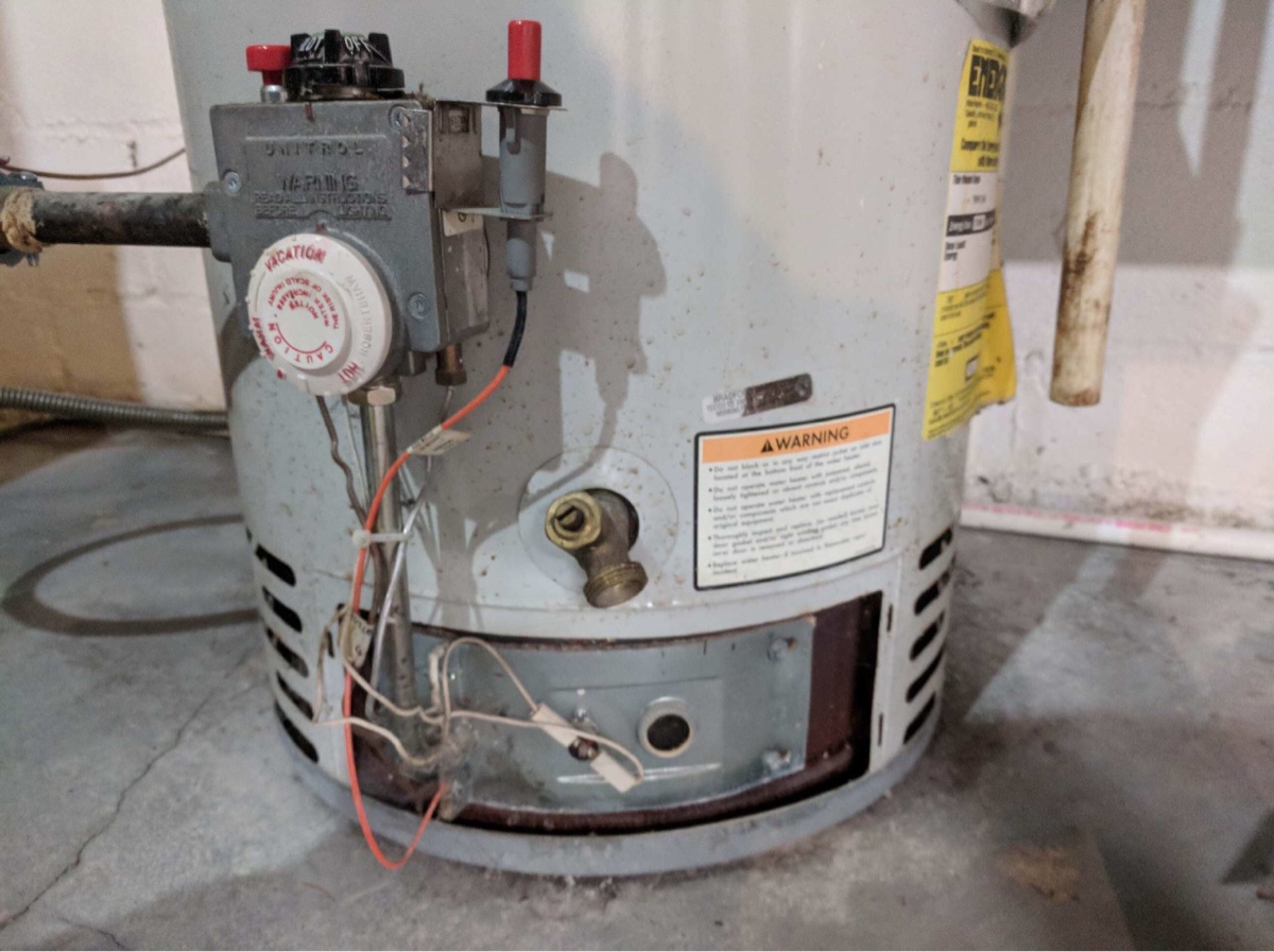 can you manually light gas water heater