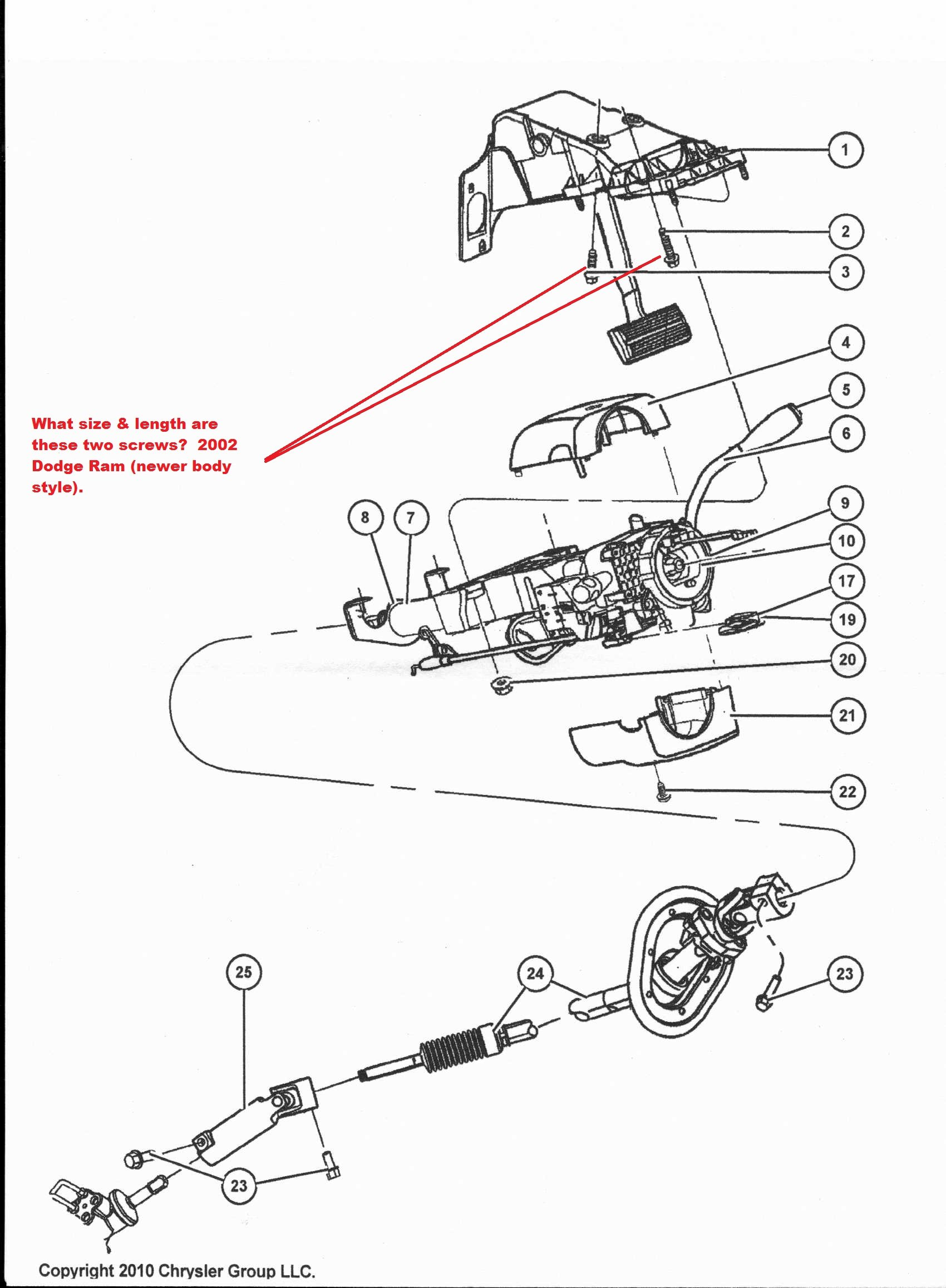 i have a 2002 dodge ram 1500 2wd, 4.7 litre. all front end ... 1996 dodge ram 1500 tail light wiring diagram 2002 dodge ram 1500 steering column wiring diagram #13