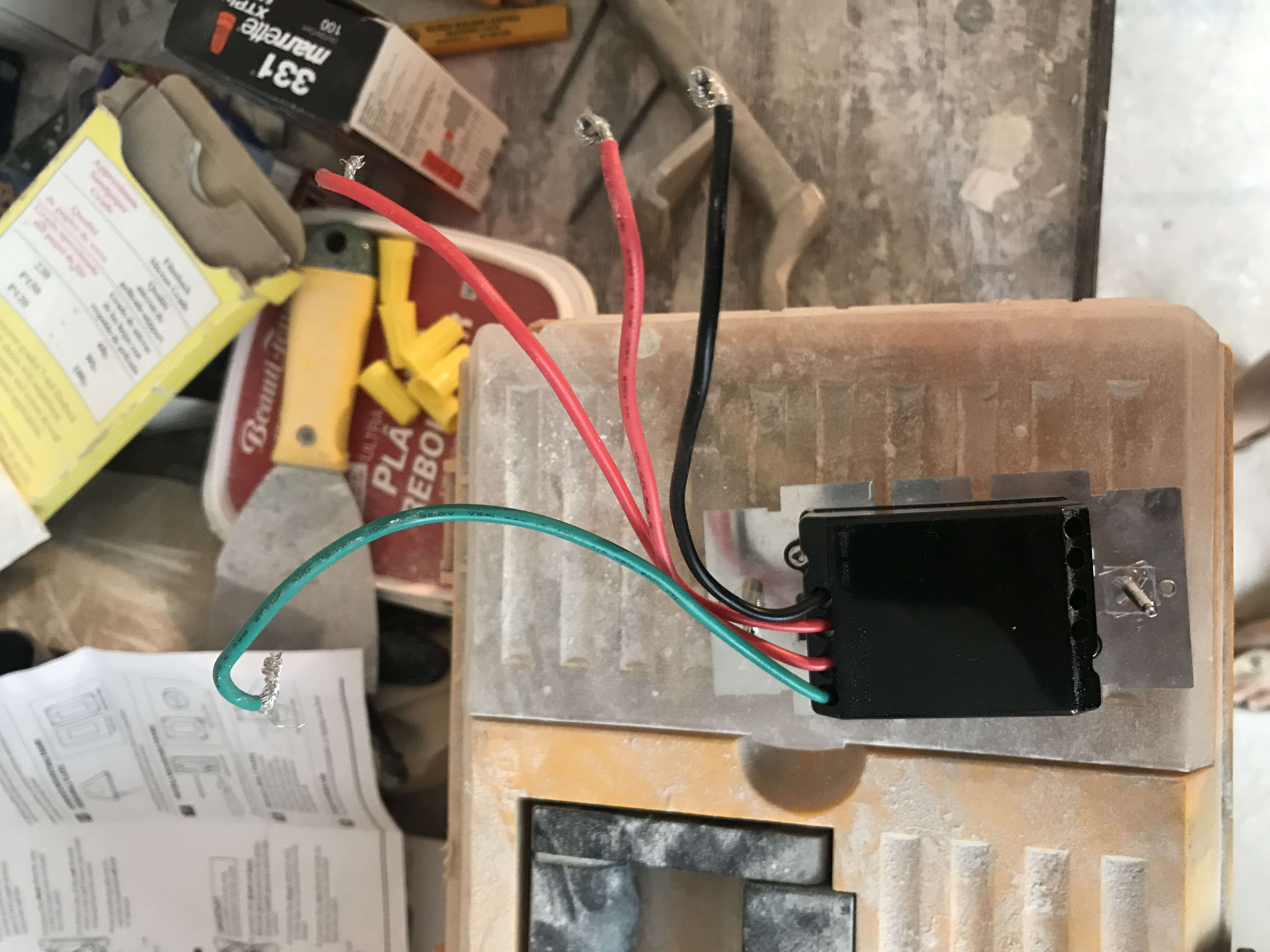 I need help on installing feit electricity 3-way dimmer ... Feit Dimmer Single Pole Switch Wiring Diagram on