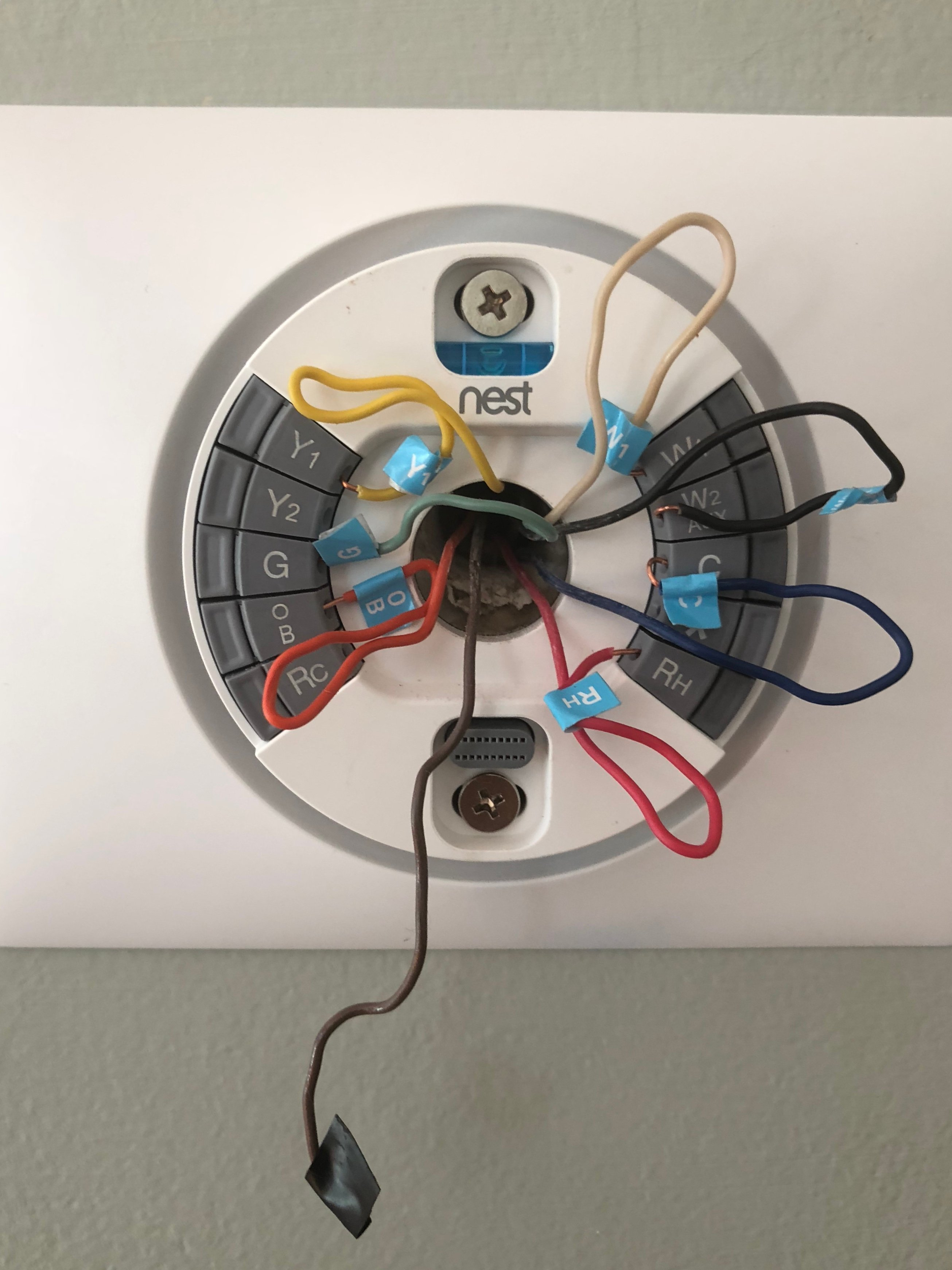 Installing A 3rd Generation Nest Thermostat To Replace Trane
