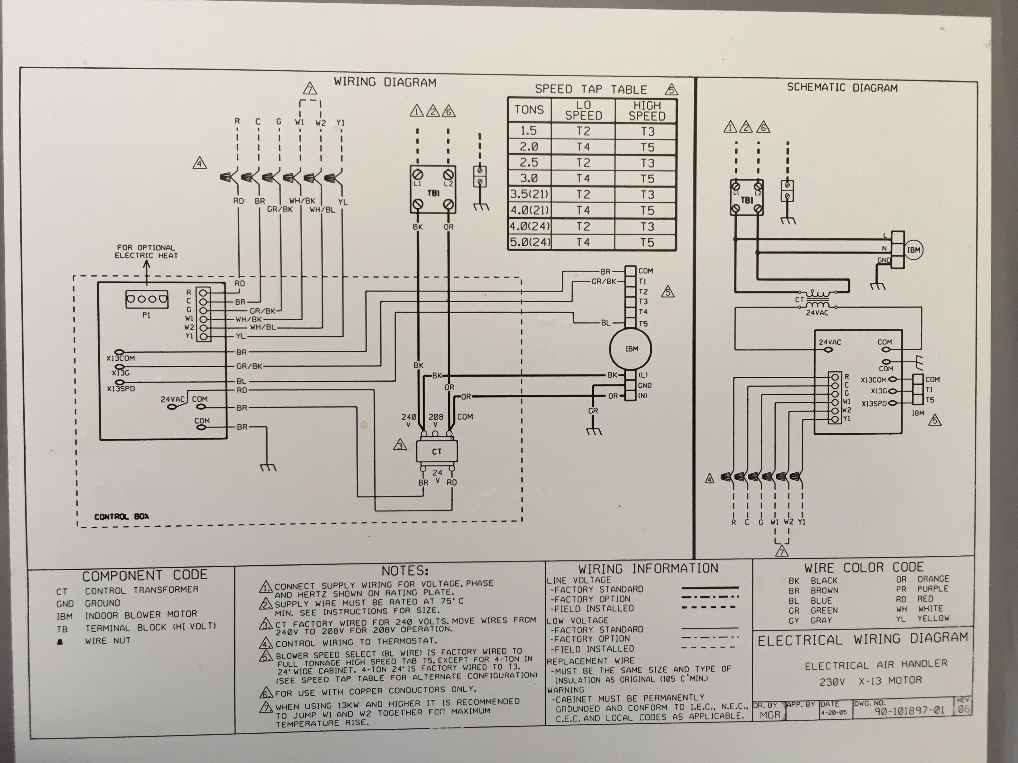Thermal Zone Heat Pump Wiring Diagram - Database