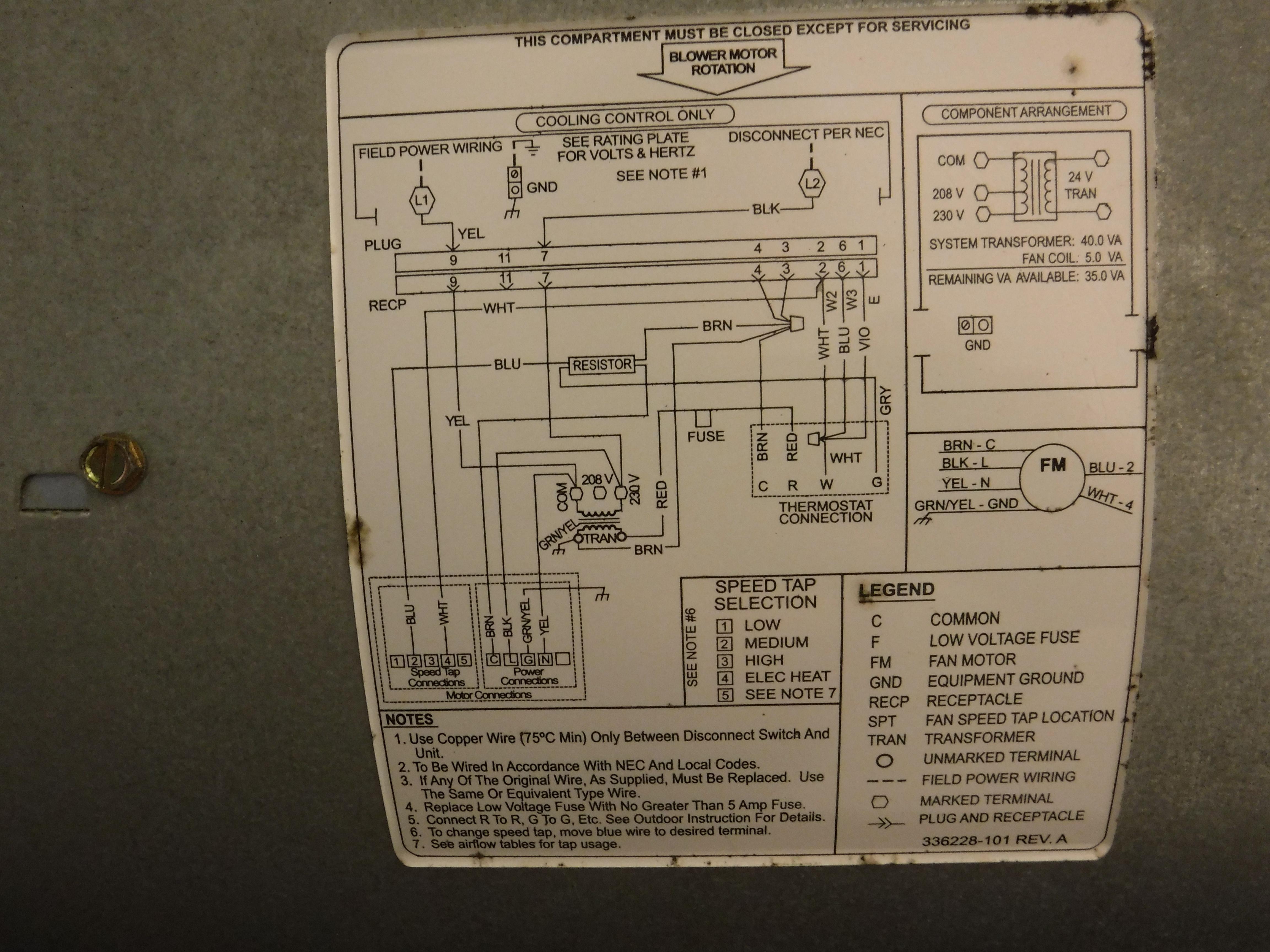My Carrier Model Fx4dnf037 Blower Motor Will Not Shut Off