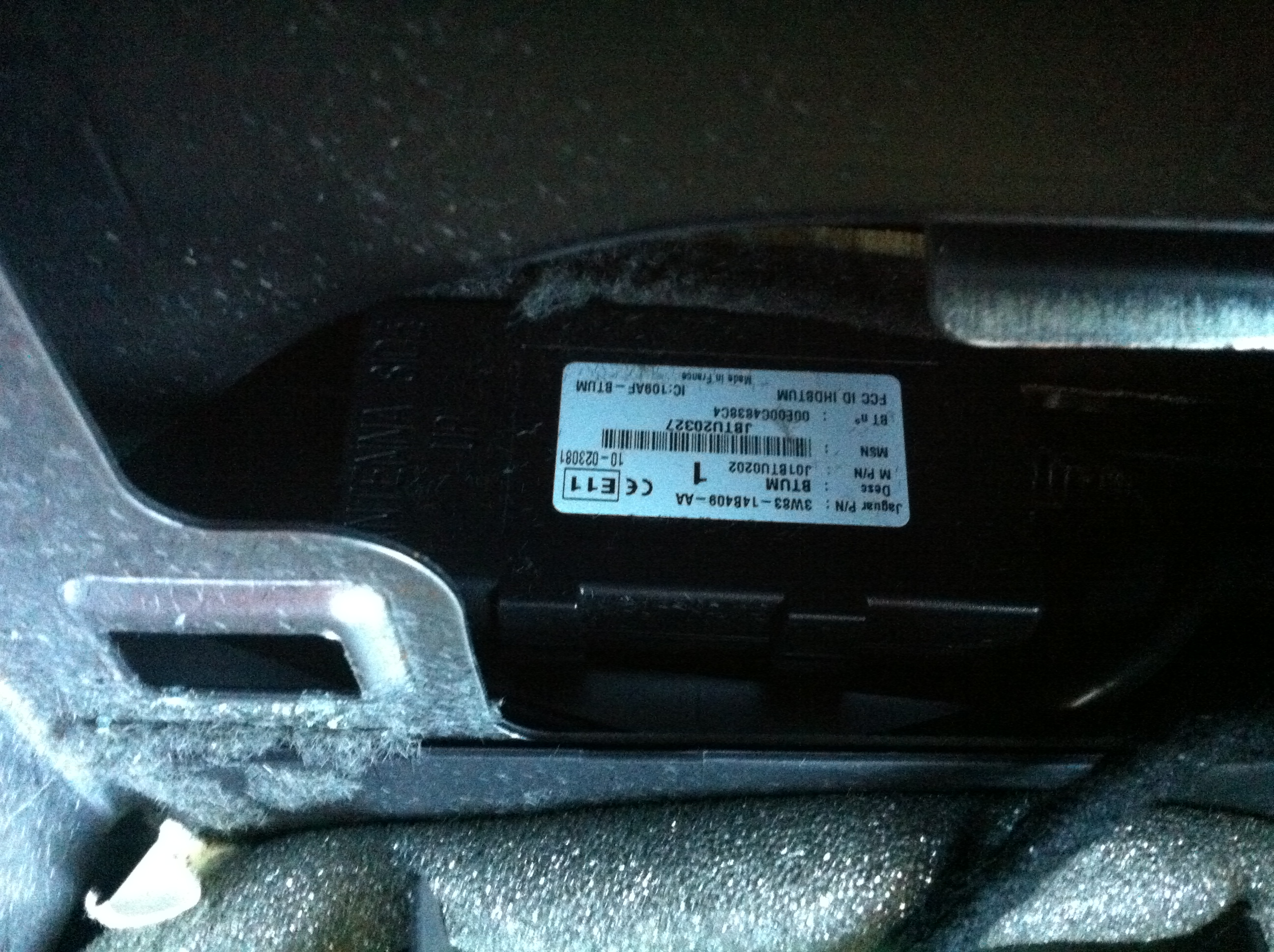 Jaguar S Type:Bluetooth stopped working after flat battery…