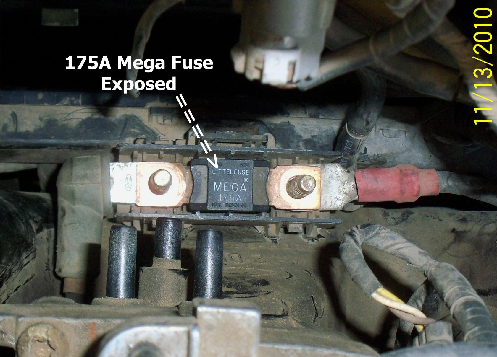 2005 Ford Explorer Fuse Block Diagram Starting Know About Wiring 6 4 Box 1996 Contour 2 0l Replaced Alternator But Battery Panel 05