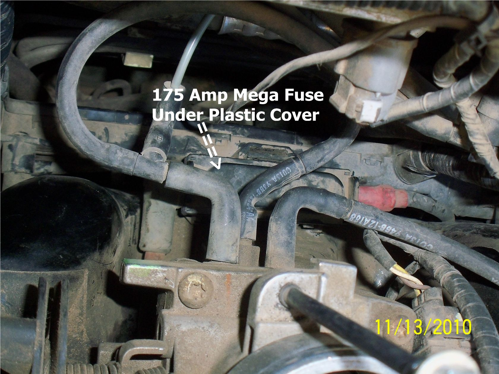 1996 ford contour 2 0l replaced alternator but battery  87 ford f150