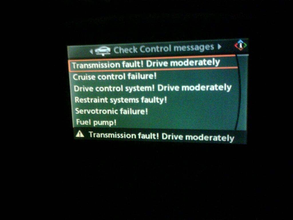 2005 E60 530D - Car won't start Control error messages I had my car