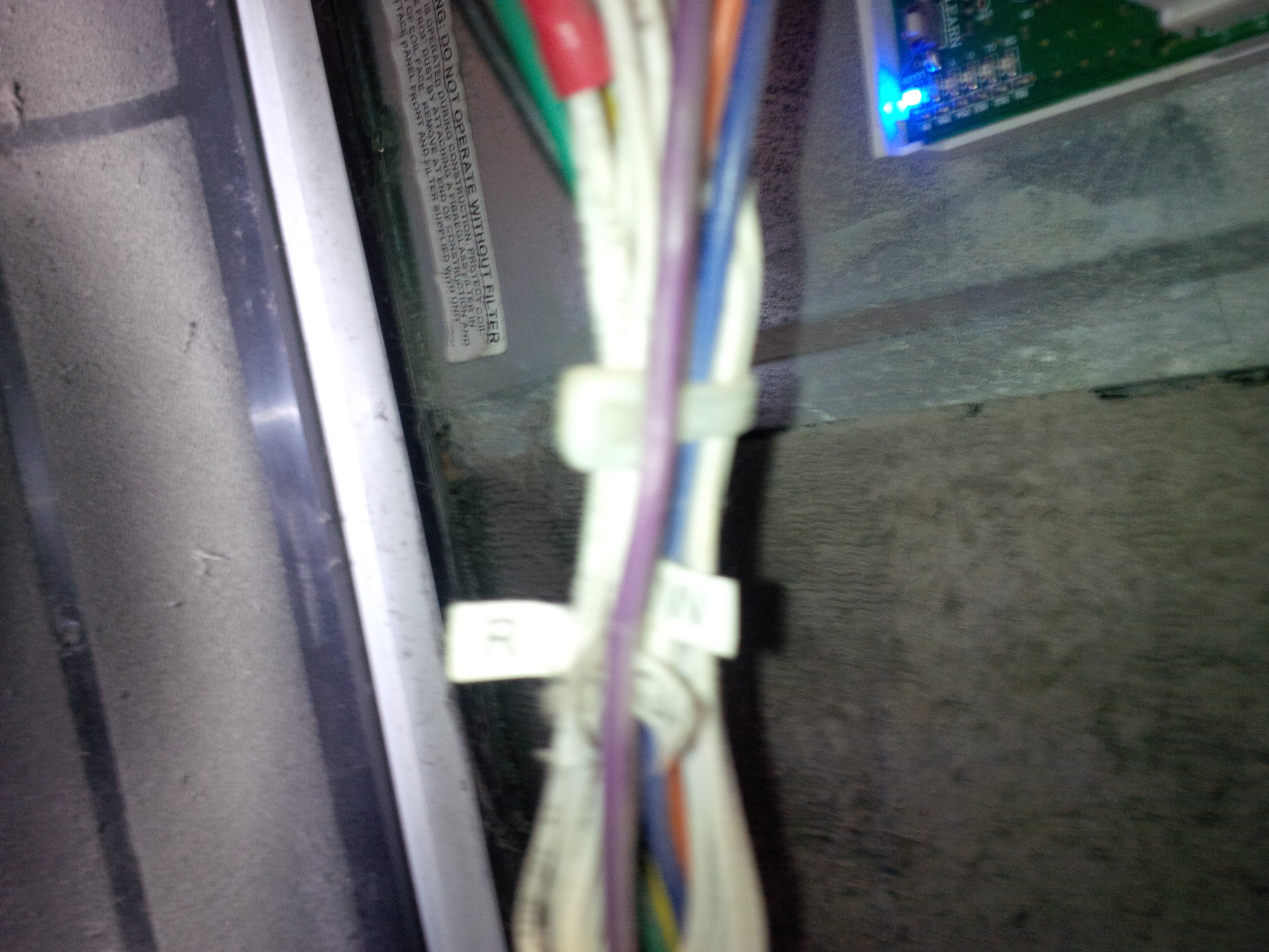 I have an electric heater/ac unit, with a Pro1 thermostat. Last ...