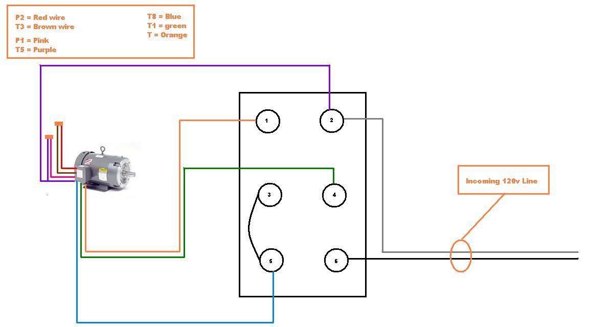 I Have A G E  Motor 5kc4ogn0 022ax  I U2019m Trying To Wire It