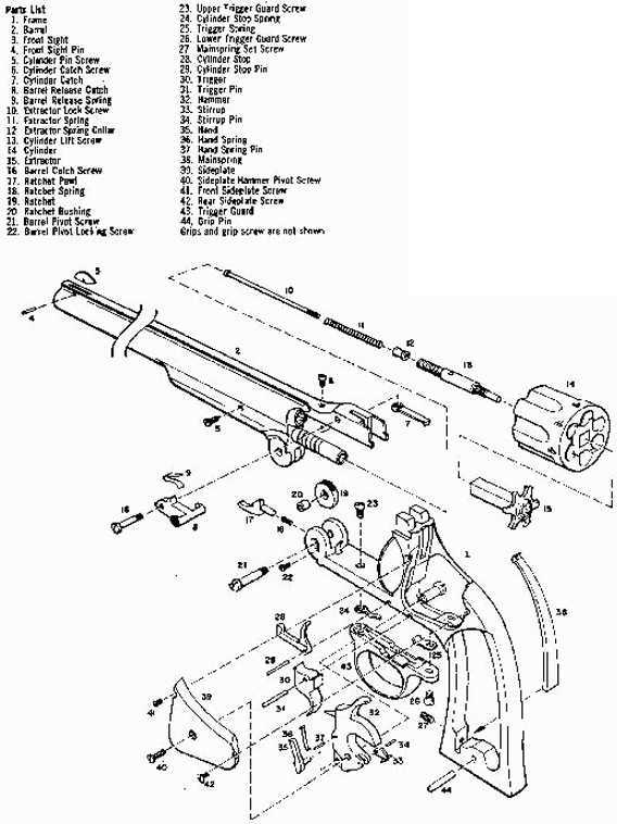 I Need A Diagram To Assemble Harrington And Richaardson 38 Sw I