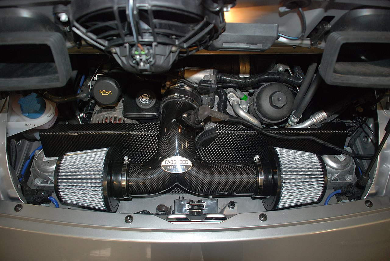 FabSpeed Cold Air Inlet Installed 997.2.jpg