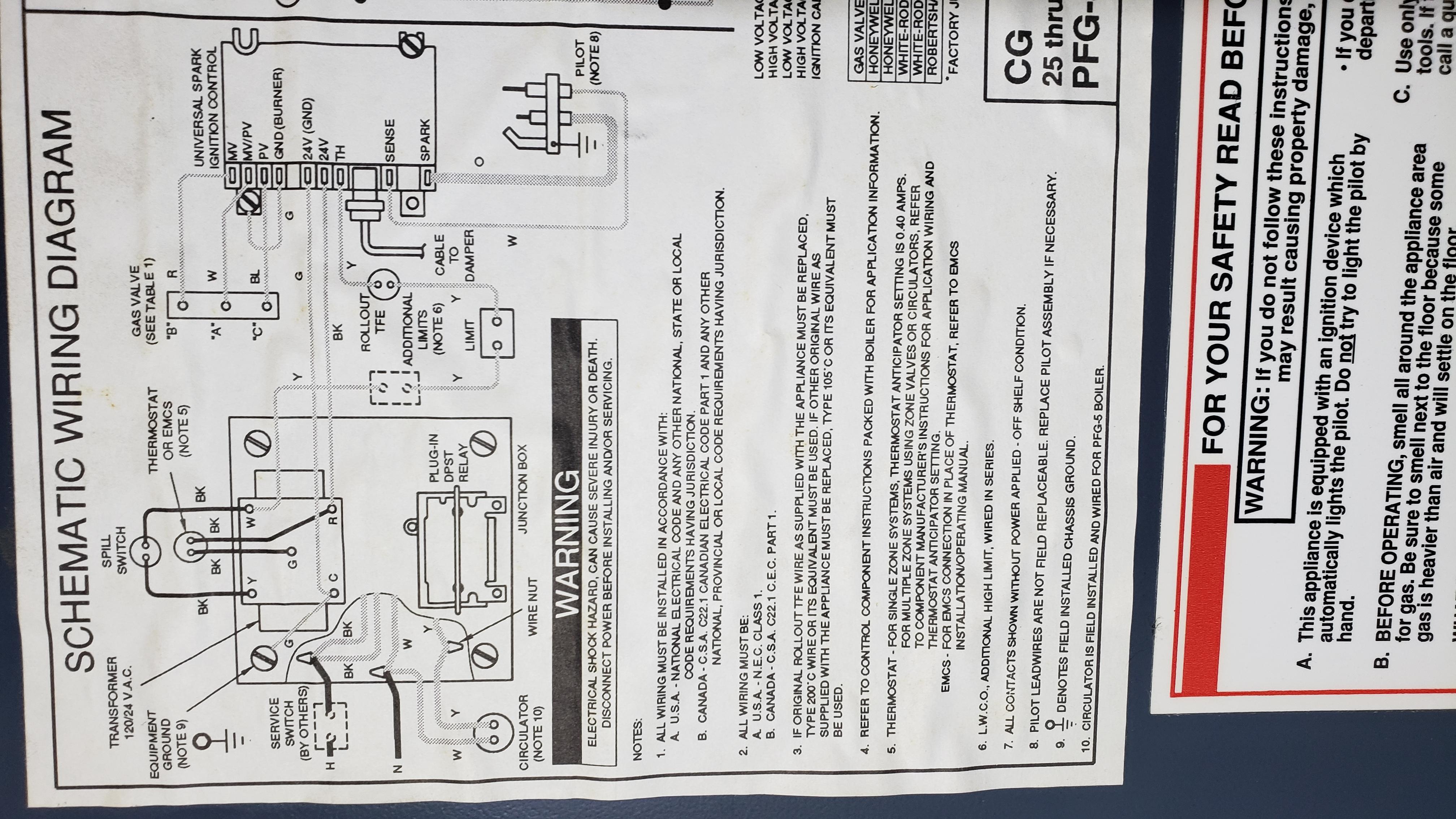 My ignition module in my Well McLain CG furnace keeps failing ... on