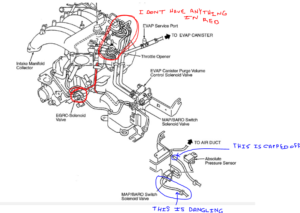 Wiring Extlights further Px Nissan Vg E Engine Zx Gl L further D Samurai Idle Help Needed B D also C D A besides Pic X. on 2000 frontier 3 vacuum diagram