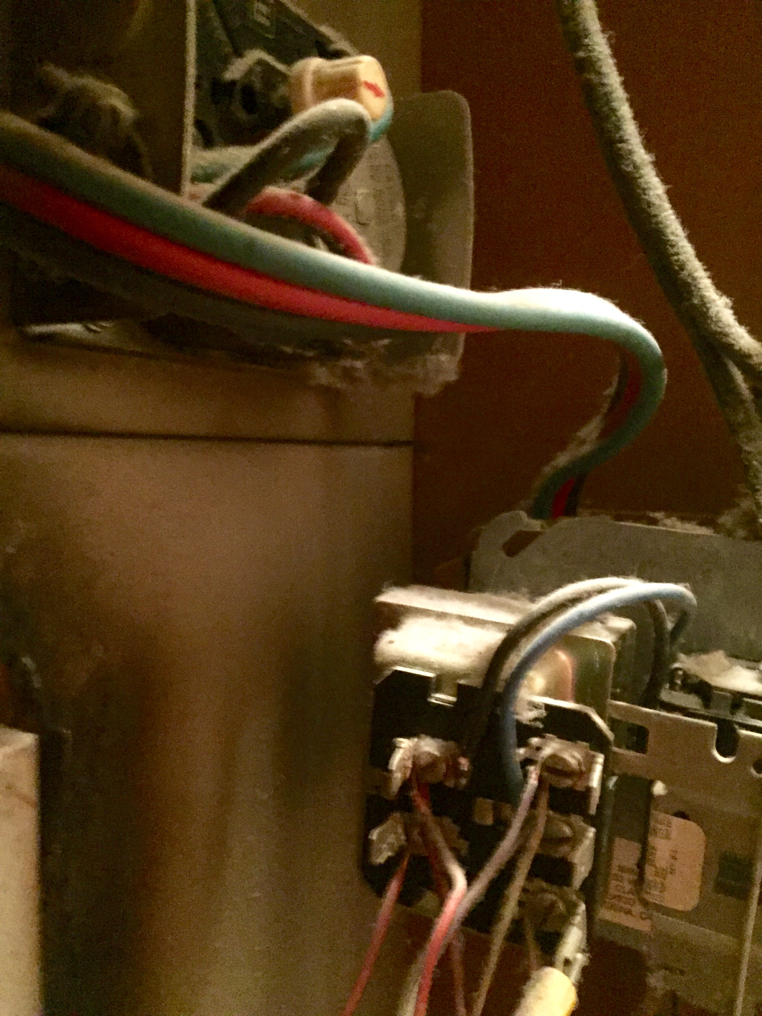 We Just Bought The Honeywell Ct87n Round Heat Cool Thermostat Wiring Diagram Imagejpeg