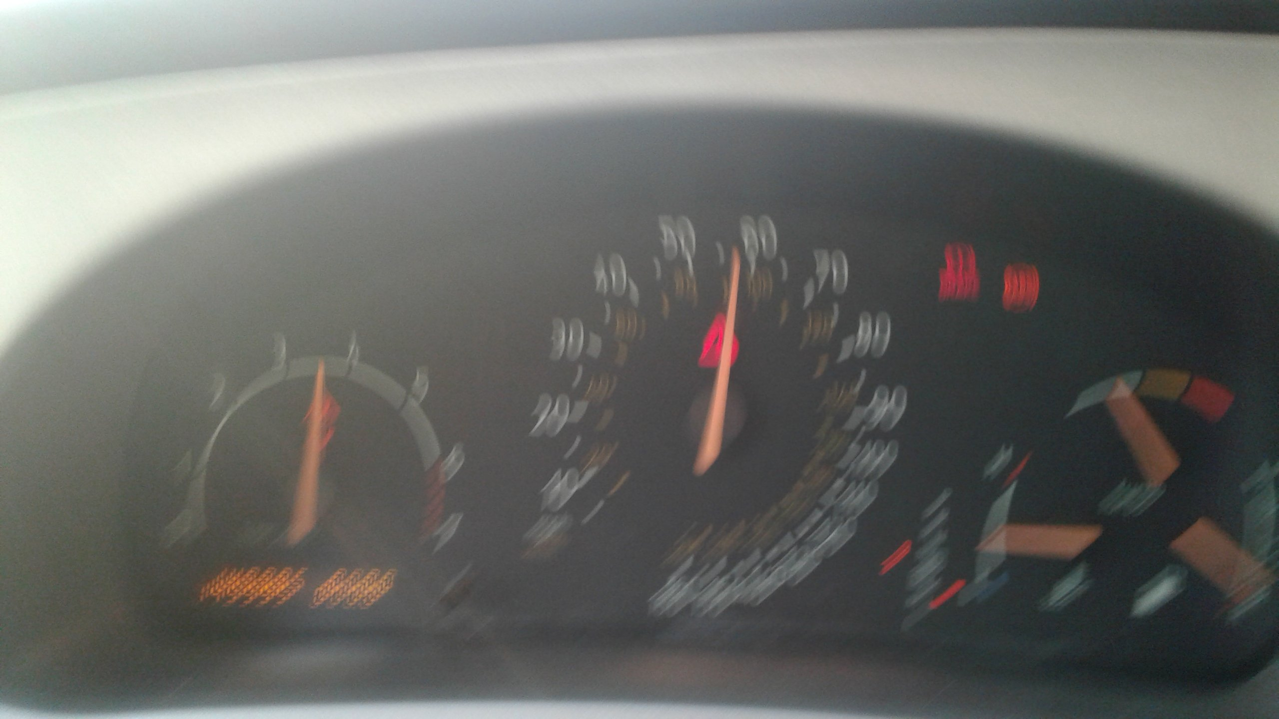Its a 2004 9-5 Aero Wagon automatic 1) Neither the odometer