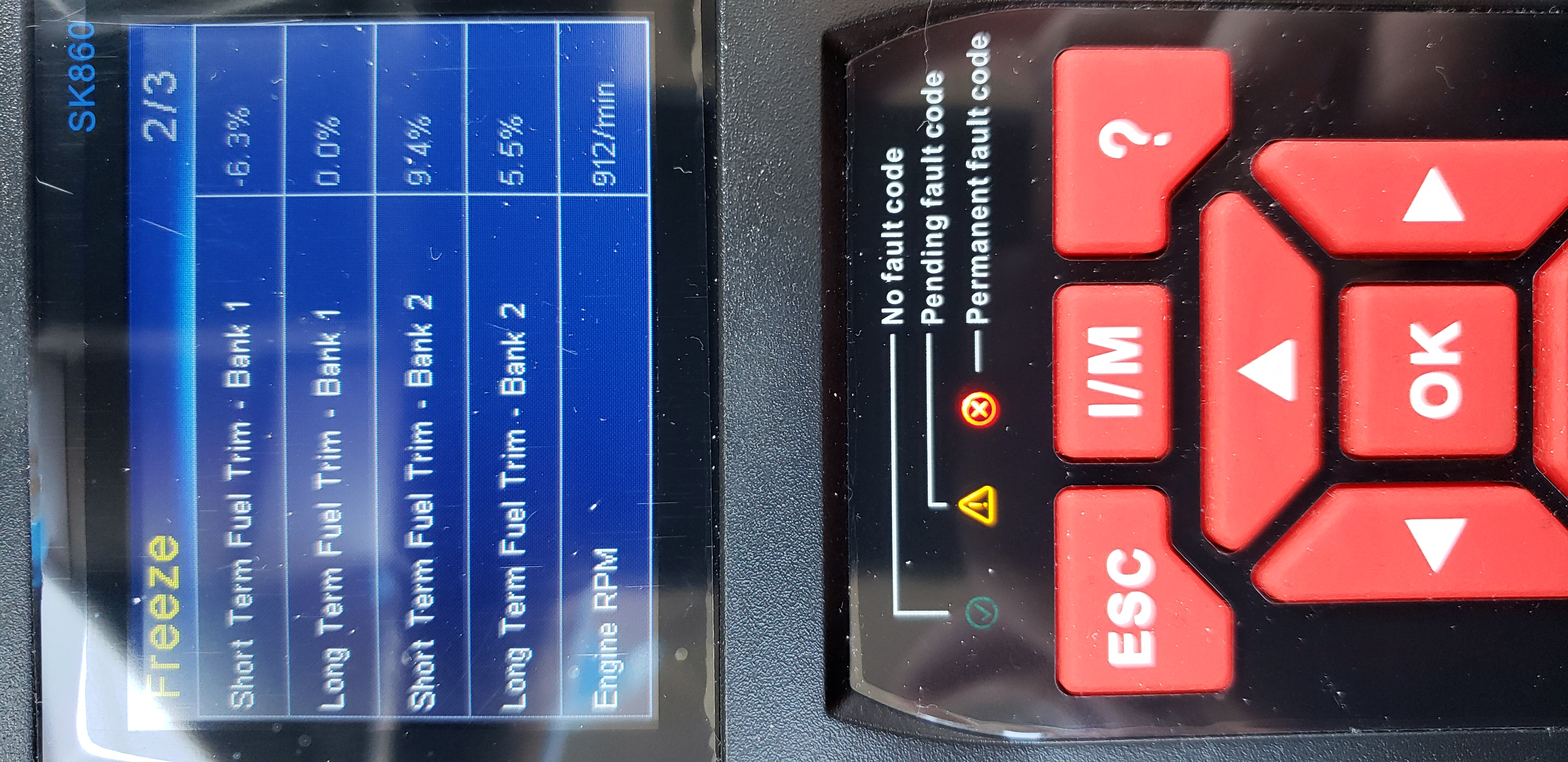 I have a 2004 Nissan Maxima with the SES codes for P1274
