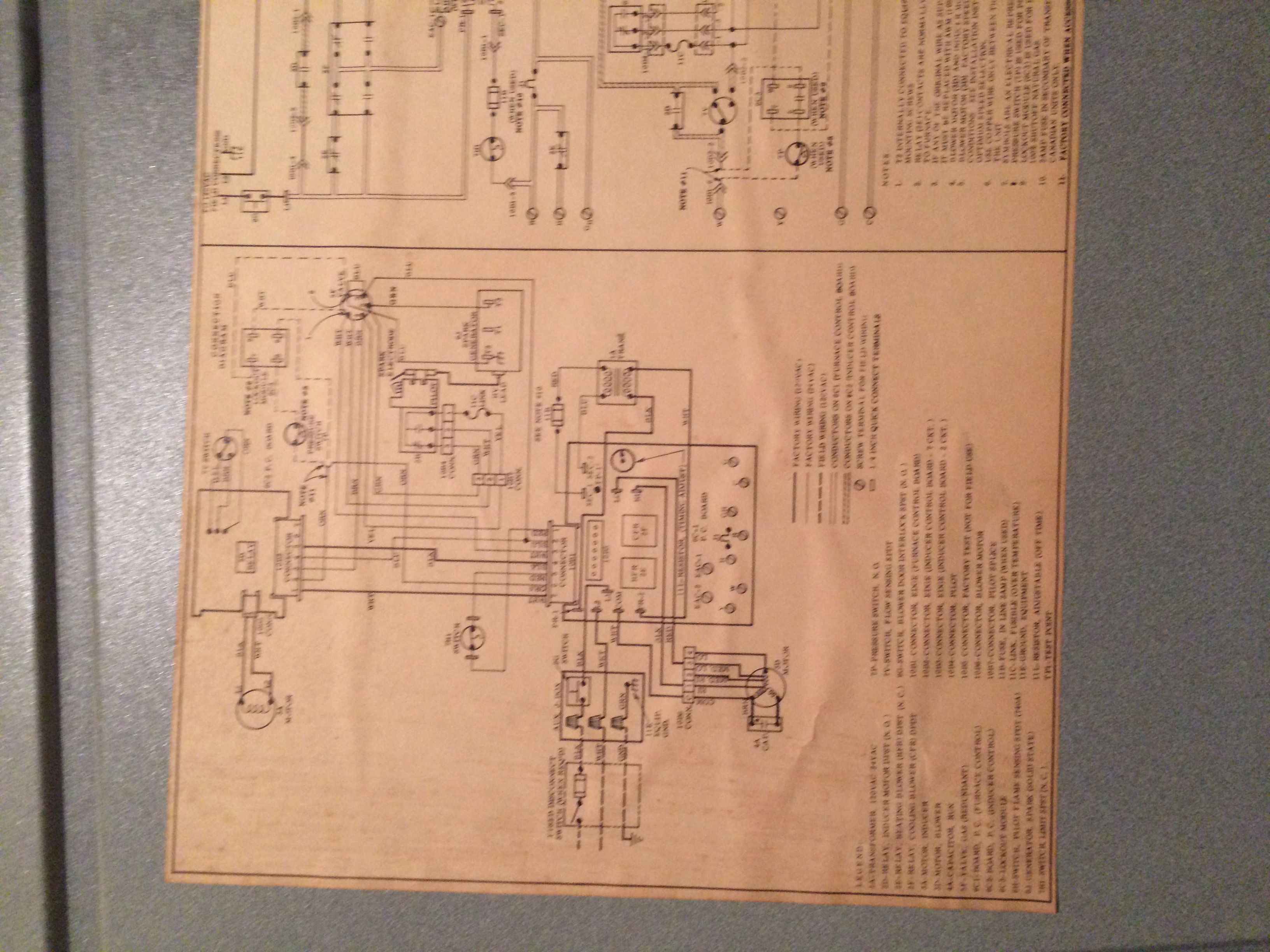 Carrier 398aaw048080aeba No Light On Ignitor Fan To Runs Finn Wiring Diagrams Img 0324