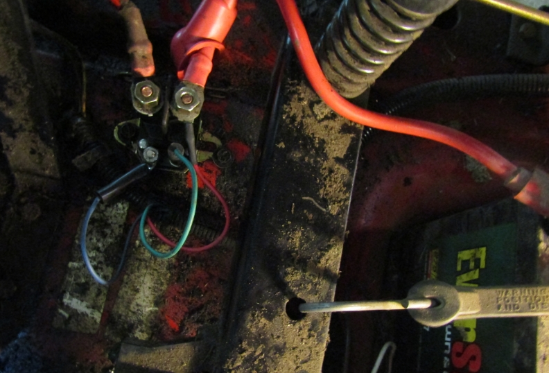 I Own A 2003 Toro Zero Turn 14 38 Mower  I Replaced Solenoid And Ignition Switch And Jumpered