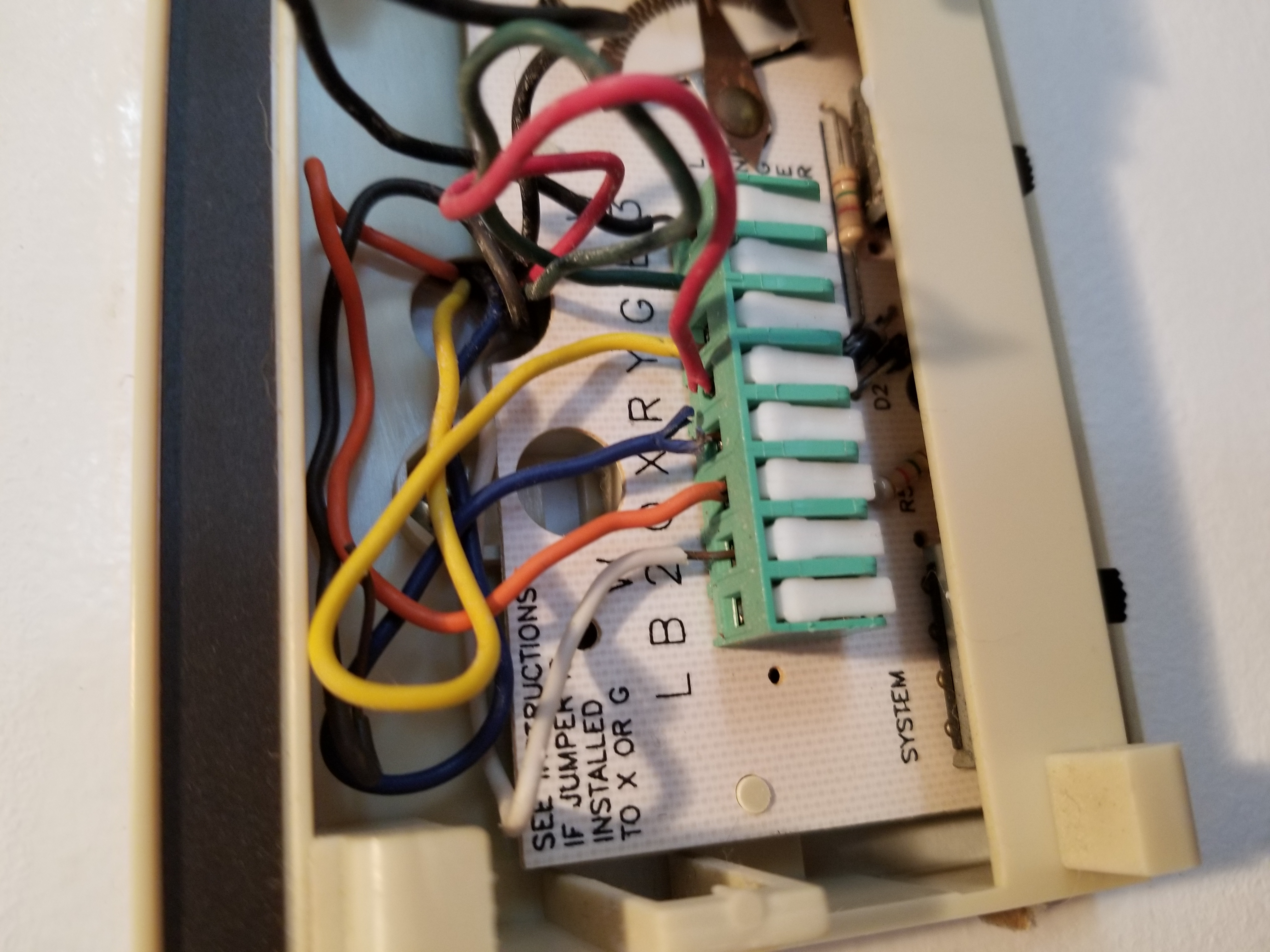 I would like to hook up.a nest 3rd generation thermostat to a heat pump  system with manual.emergancy heat. My issue isJustAnswer
