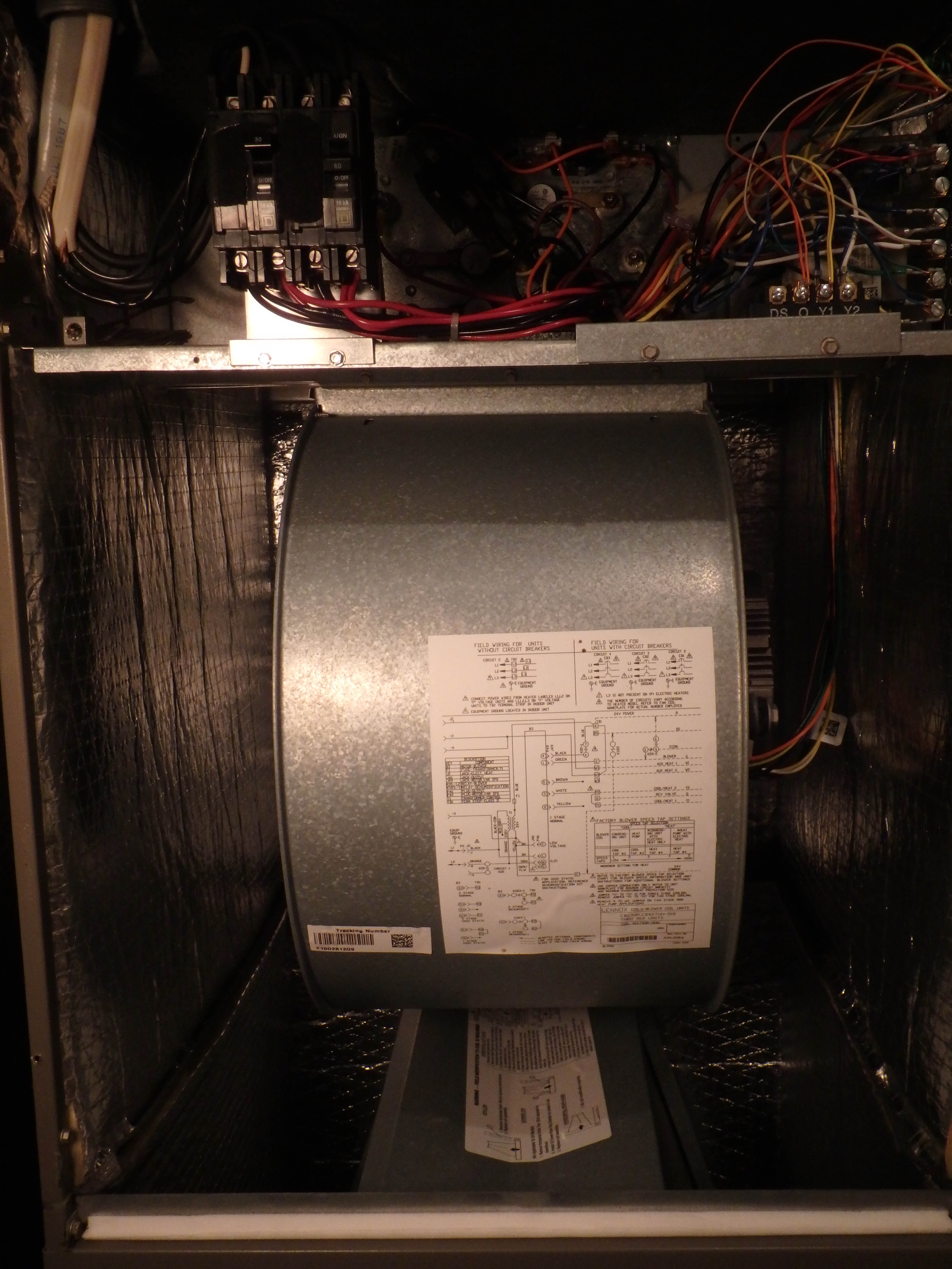 My Lennox Air Handler keeps blowing 3 amp fuses They are