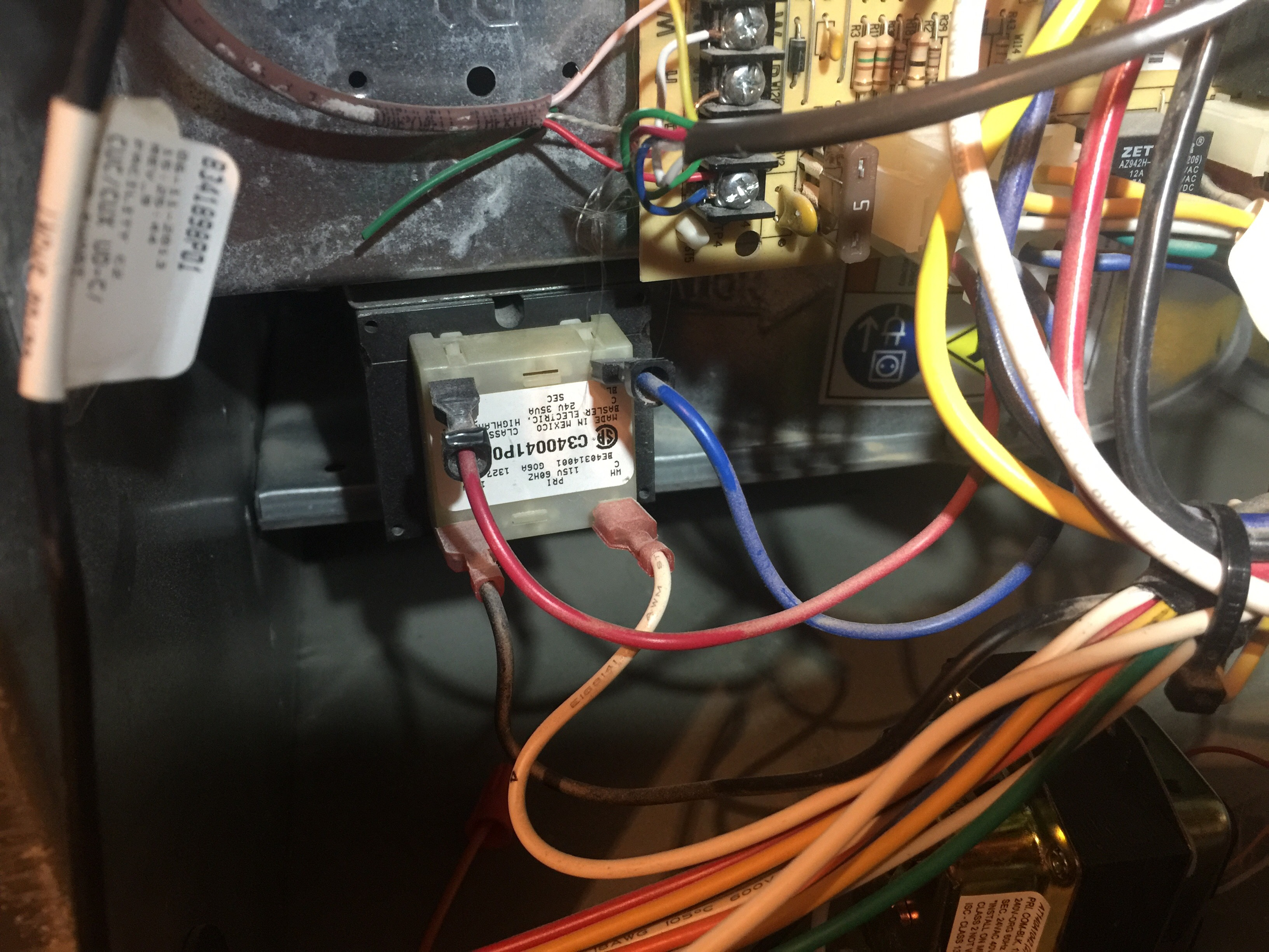 I've installed a replacement HZ311 zone board to my HVAC
