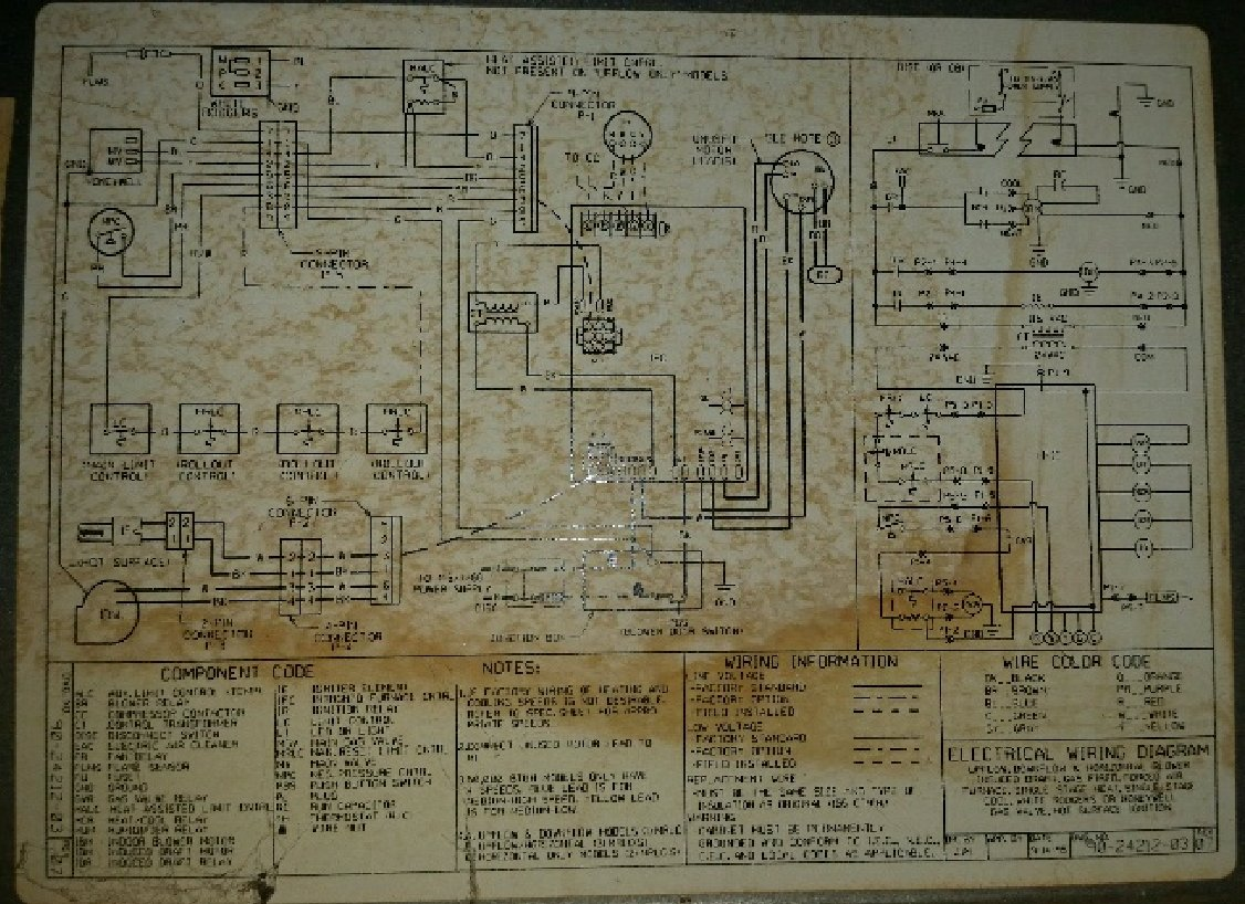 Ruud Silhouette Furnace Wiring Diagram Diagrams Schema Rheem Rgpj I Have A Model Ugpj 07eauer That Isnt