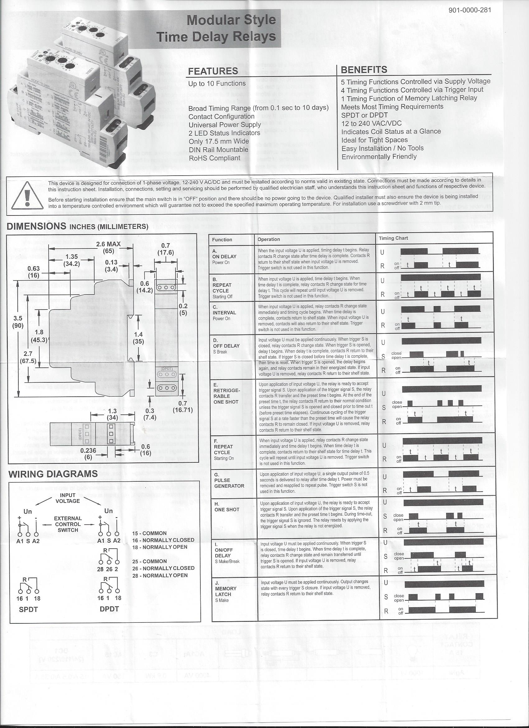 Dayton Contactor Wiring Fusebox And