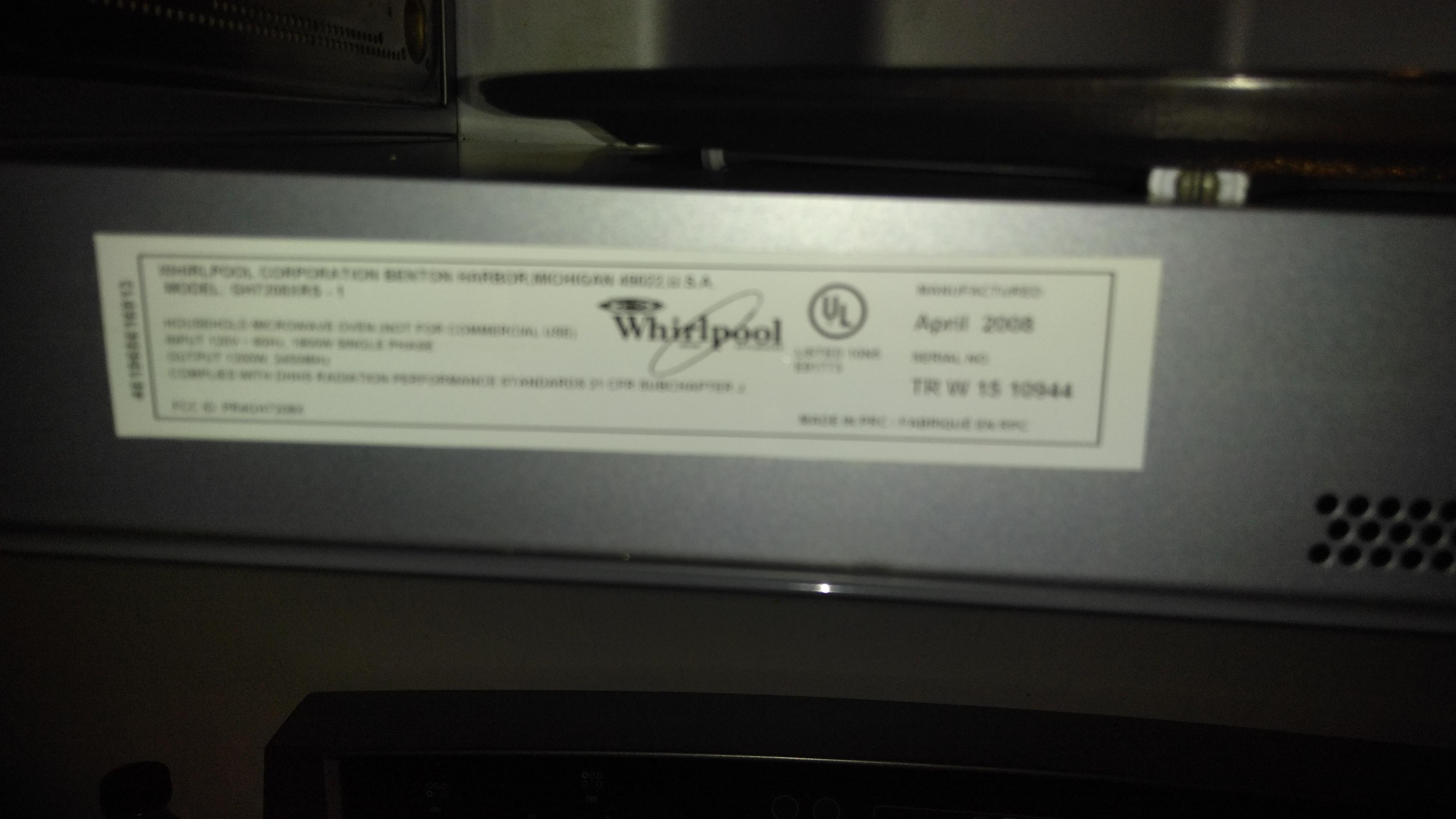 Whirlpool Velos Microwave Problems Bestmicrowave