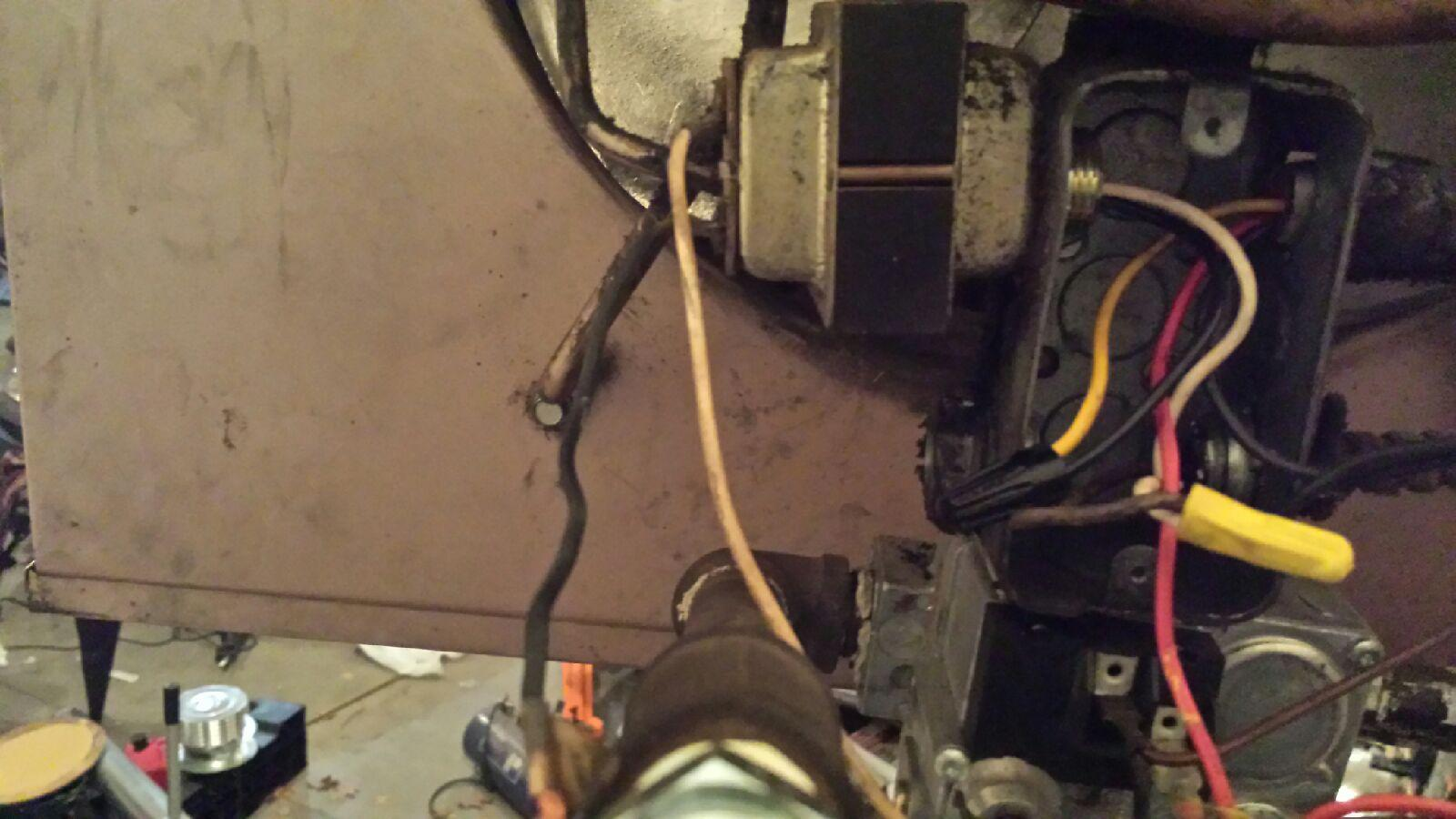 I am trying to wire a Reznor UA 100 overhead garage heater. I don't Reznor Thermostat Wiring Diagram on