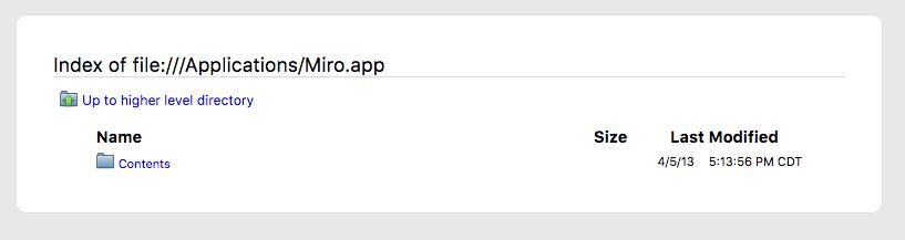I have OS 10 13 2  High Sierra  Miro no longer works