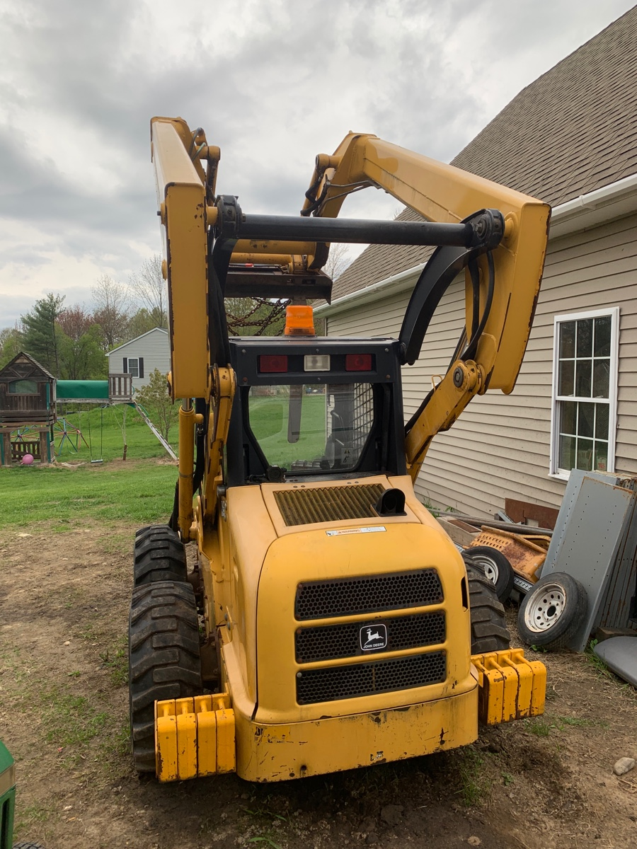 I have a Deere skid steer 250 And I change the hydraulic
