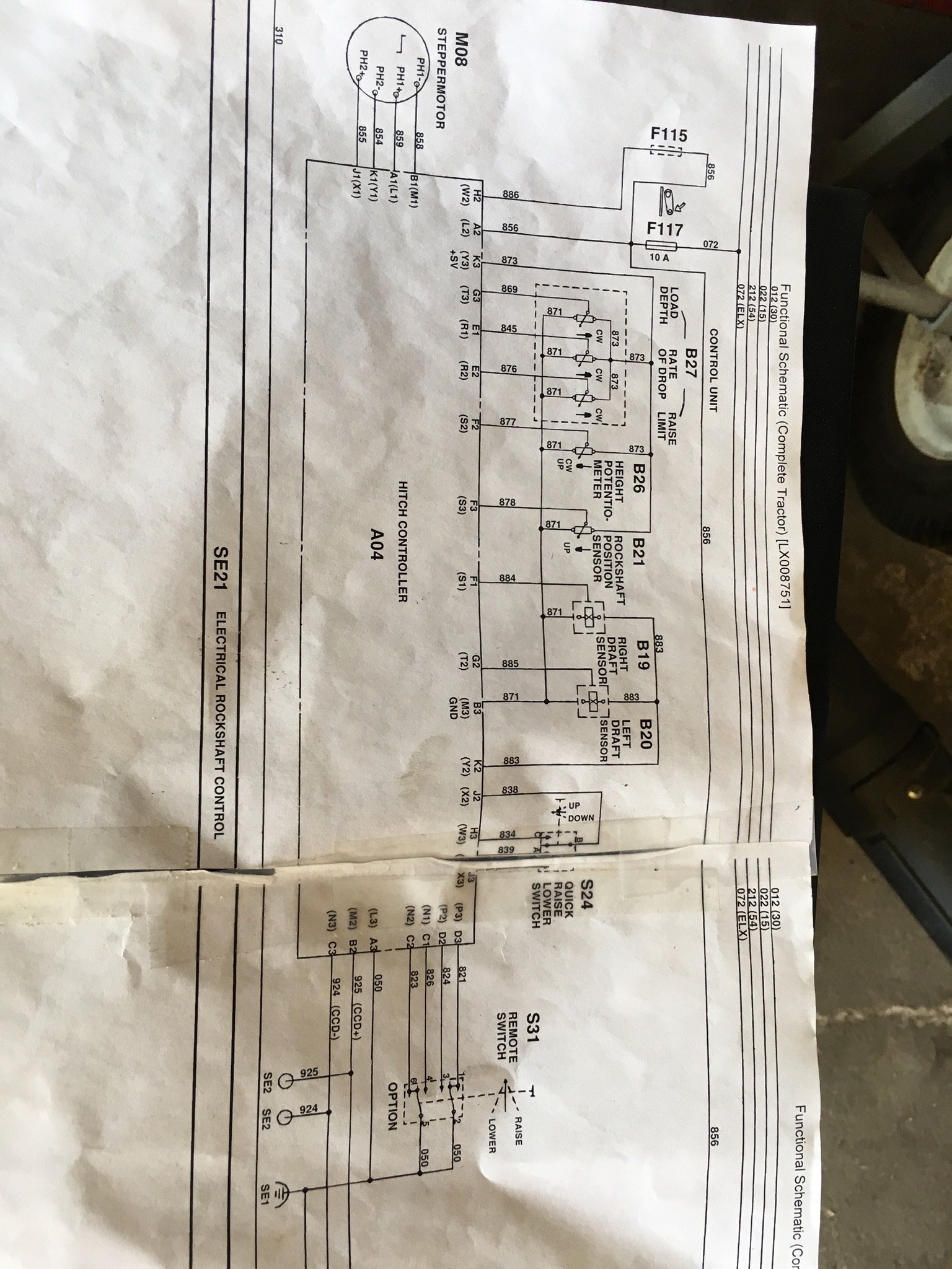 [SCHEMATICS_48IS]  Have a Deere 6400 tractor with electrical problems. PTO and 3 point lift  does not work. I checked the obvious things | John Deere 6400 Wiring Diagram |  | JustAnswer