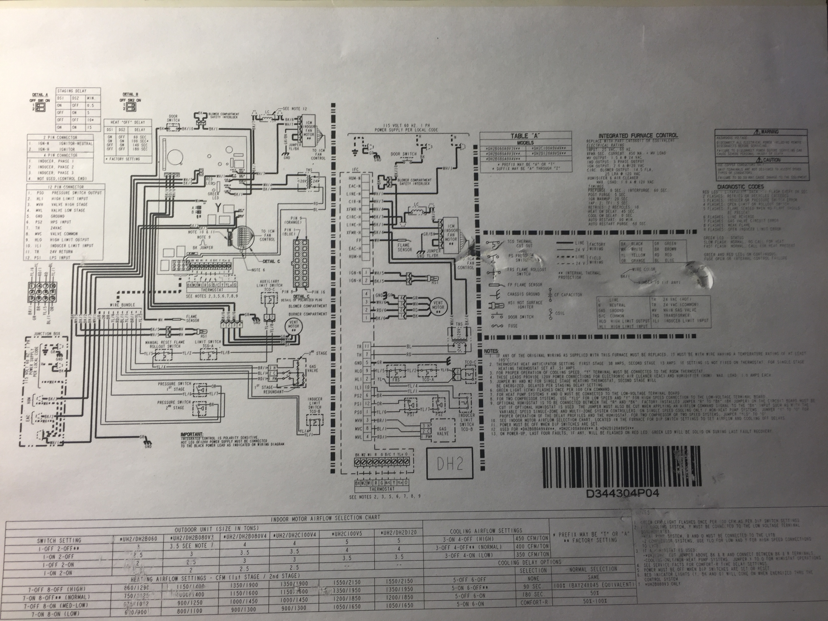 I Have A Trane Xv90 And Did A Inducer Motor Conversion Per