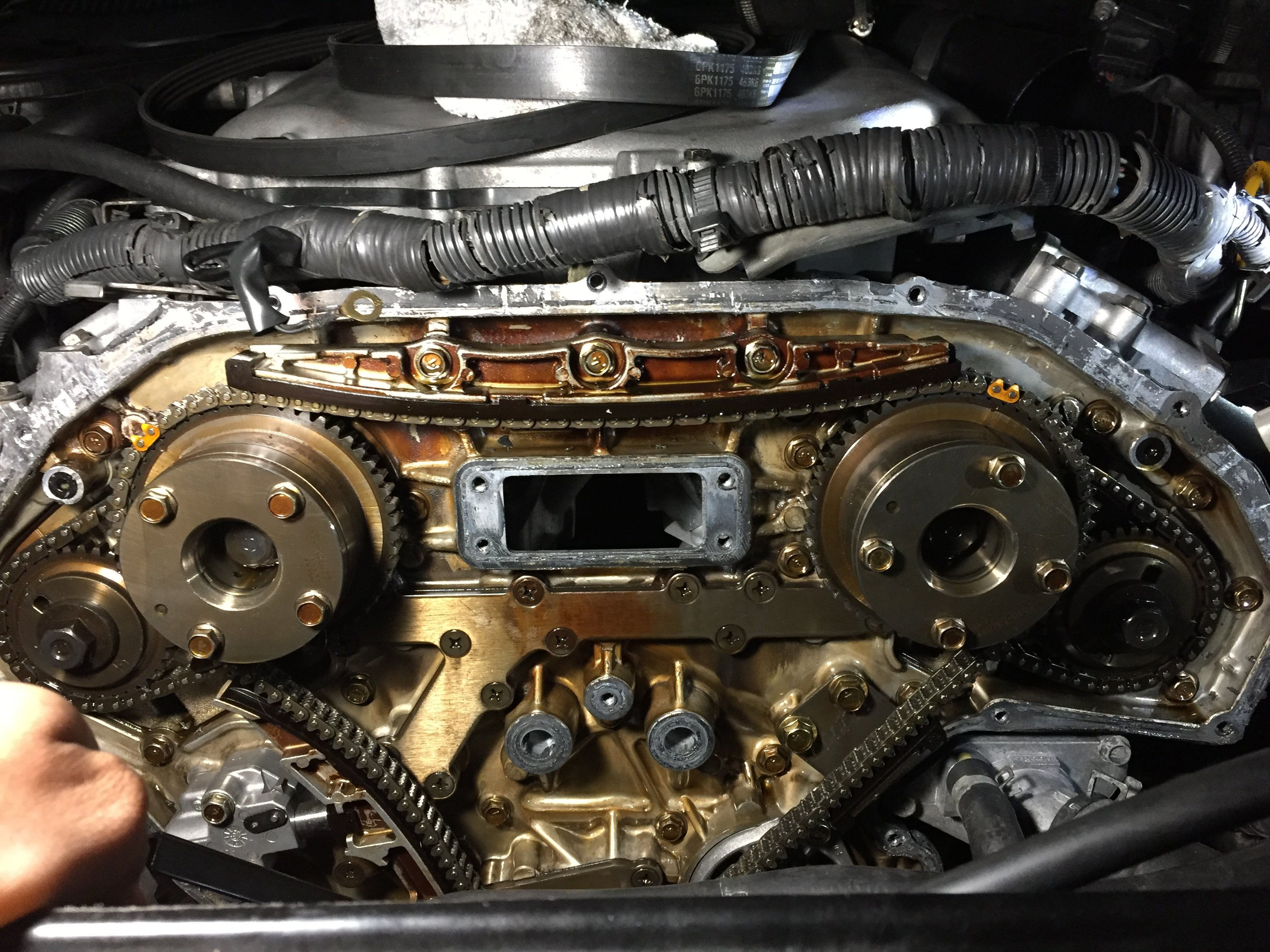 Nissan 350z p0021 timing over advanced  Don't know the ignition