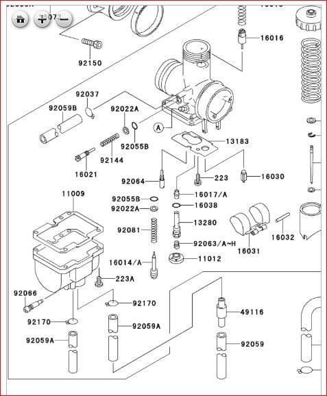 Kawasaki Bayou 220 Carburetor Hose Diagram General Wiring Diagram