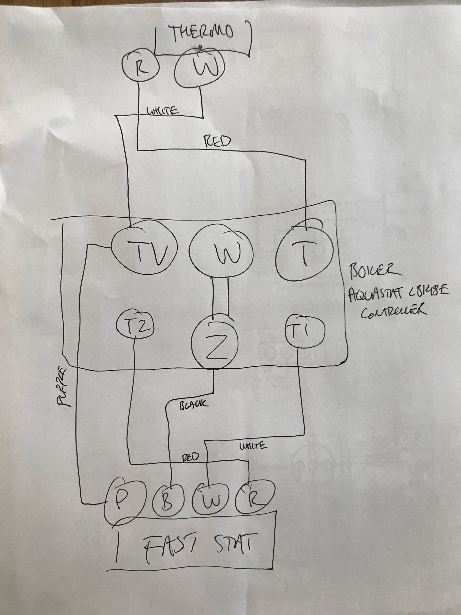 Honeywell L8148A Wiring Diagram from f01.justanswer.com