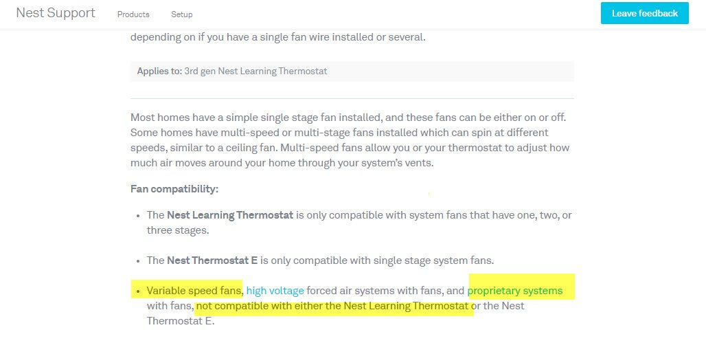 We have just installed a Nest 3rd Generation and have a ... Nest Thermostat Wiring Diagram For Lennox Cbx Mv on