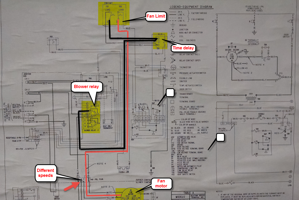 trane xe70 wiring diagram   25 wiring diagram images
