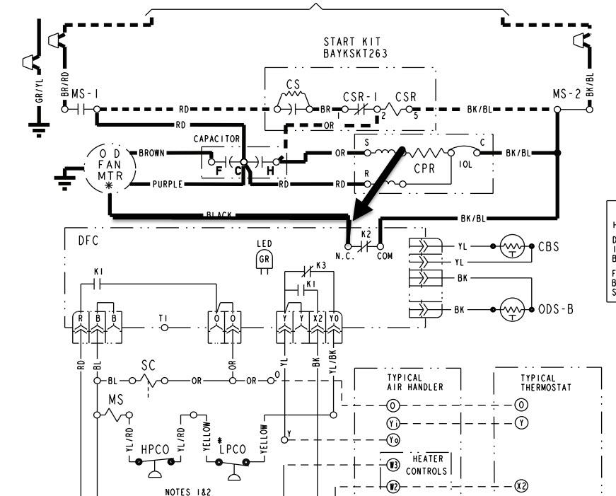 Trane Xr13 Air Conditioner Wiring Diagram