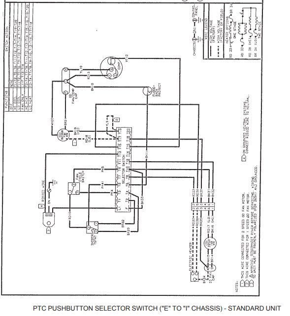 WIRING DIAGRAM FOR A AMANA PTC12335G PTAC. 20 YEARS. HVAC COMPANY | Pump Amana Diagram Wiring Ptac Heat |  | JustAnswer.com