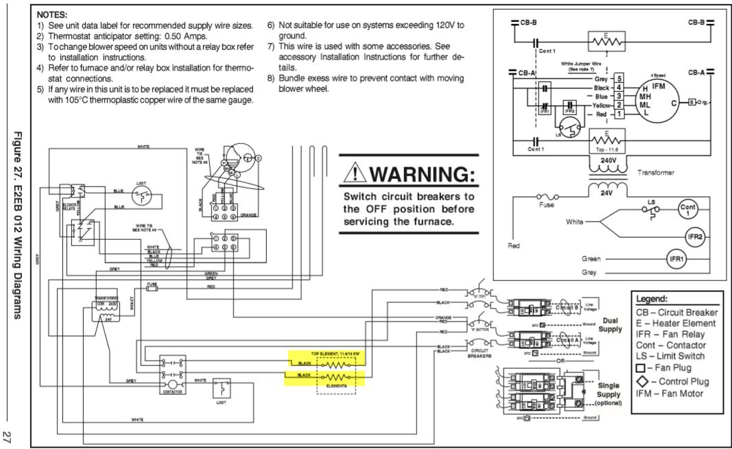 I Have A Nordyne E2eb012ha Furnace Replace The Heating Rhjustanswer: Nordyne Model E2eb 015ha Wiring Diagram At Gmaili.net