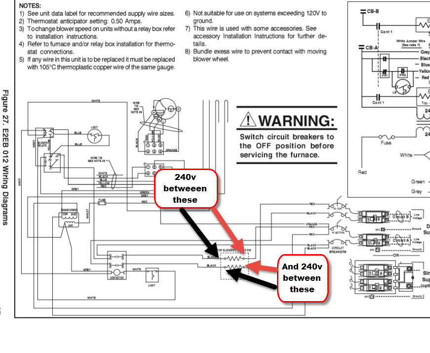 I Have A Nordyne E2eb012ha Furnace Replace The Heating Rhjustanswer: Nordyne Model E2eb 015ha Wiring Diagram At Gmaili.net