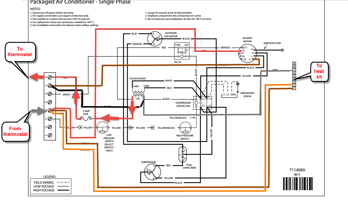 Frigidaire Ft3ba 036ka Circuit Board Schematic Everything About Trane American Standard Furnace Control 50a51 495 Ebay Tappan Heat Cooling Model P7re 036k Heating Not Working Went Rh Justanswer Com Printed Schematics
