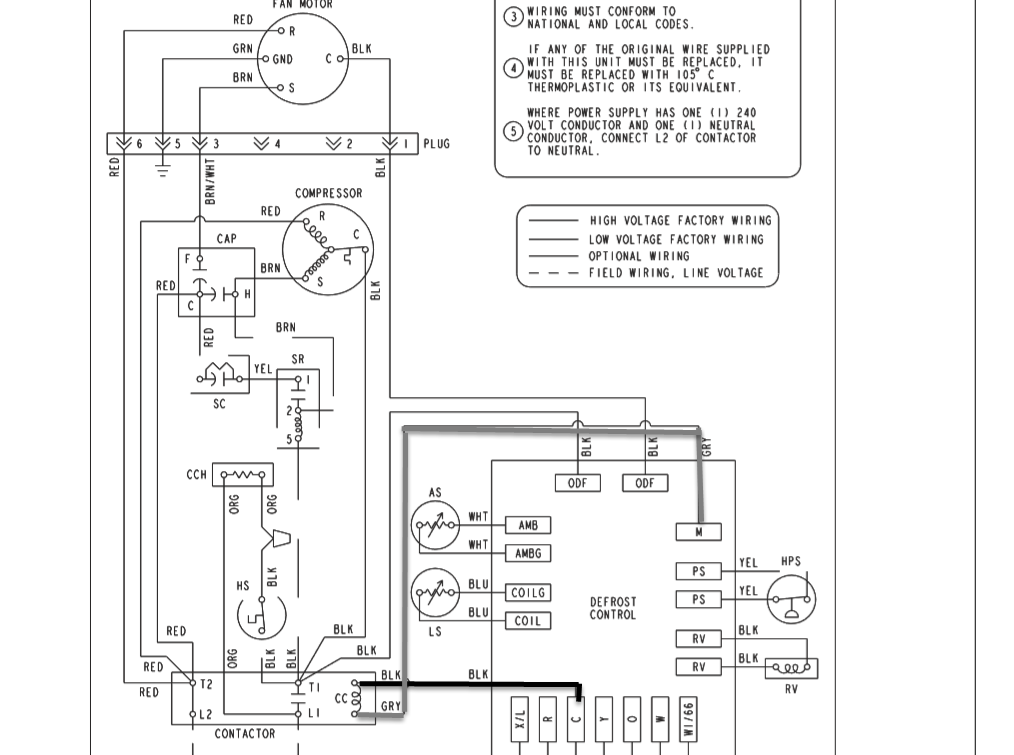 Im Working On A York Heat Pump Mod Eird048s06b Ser W0e7739857