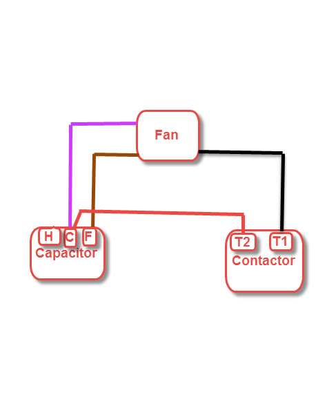 I have a new fan motor for a lennox hs18, along with a new run ... Need Wiring Diagram Lennox Hs on