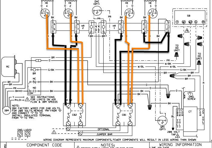 Ruud Air Handler Wiring Diagram